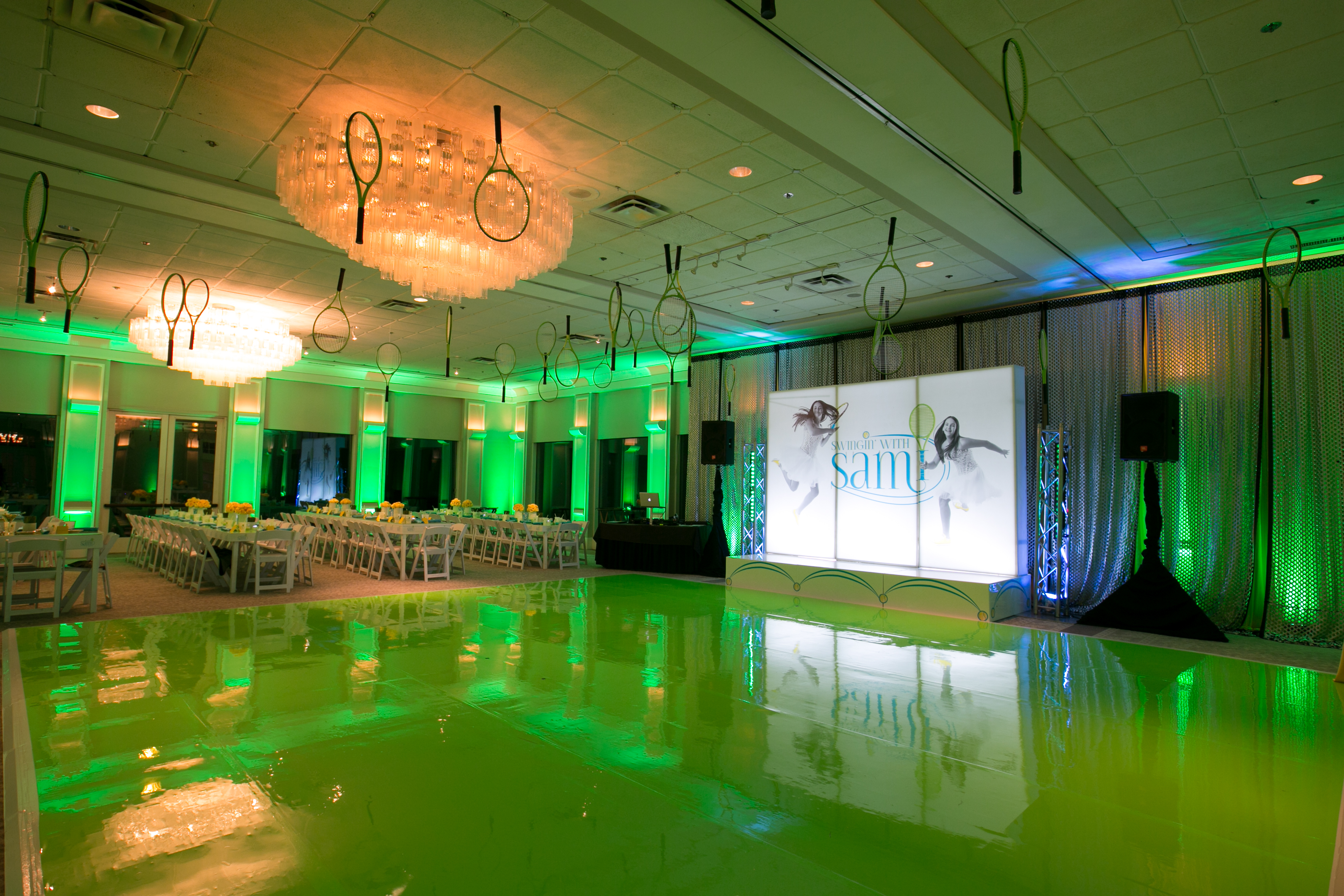Tennis Themed Bat Mitzvah - Epic Events