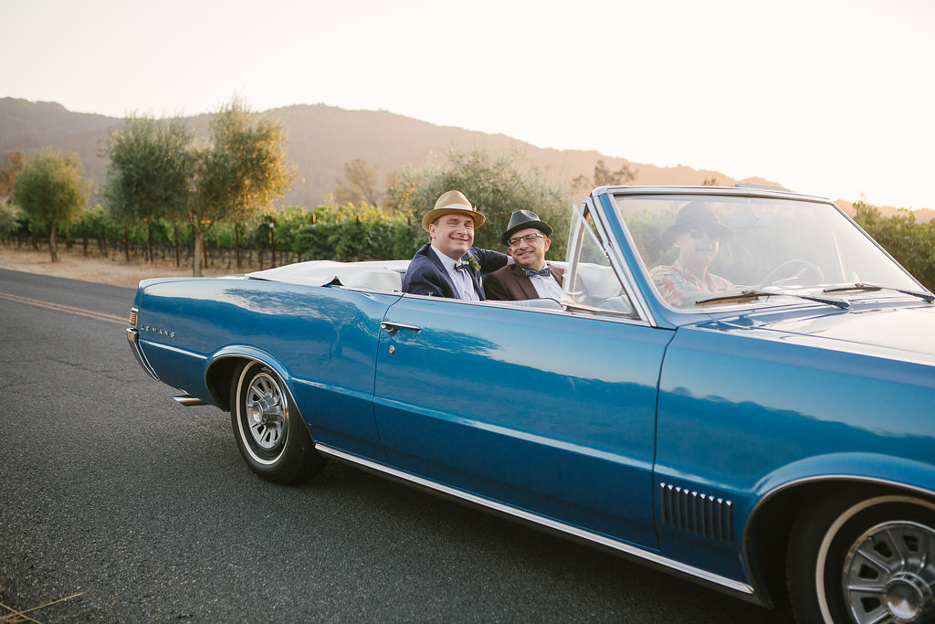 Mad Men in Napa | Wedding Day - Cole Drake Events