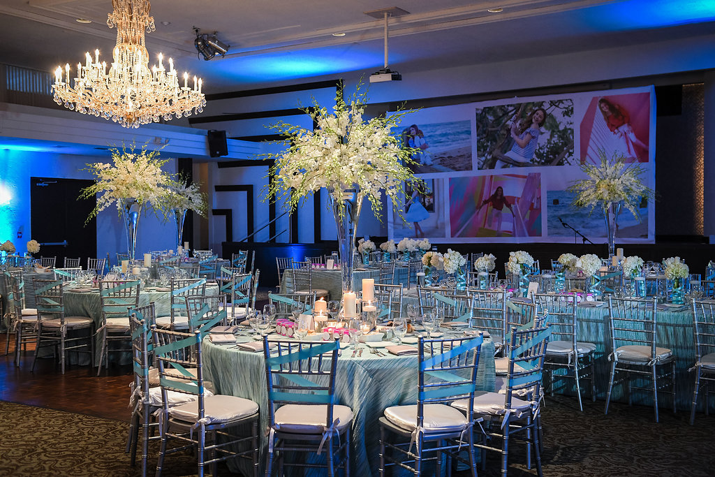 TURQUOISE CHIC: MIAMI DINNER PARTY - Chris Weinberg Events