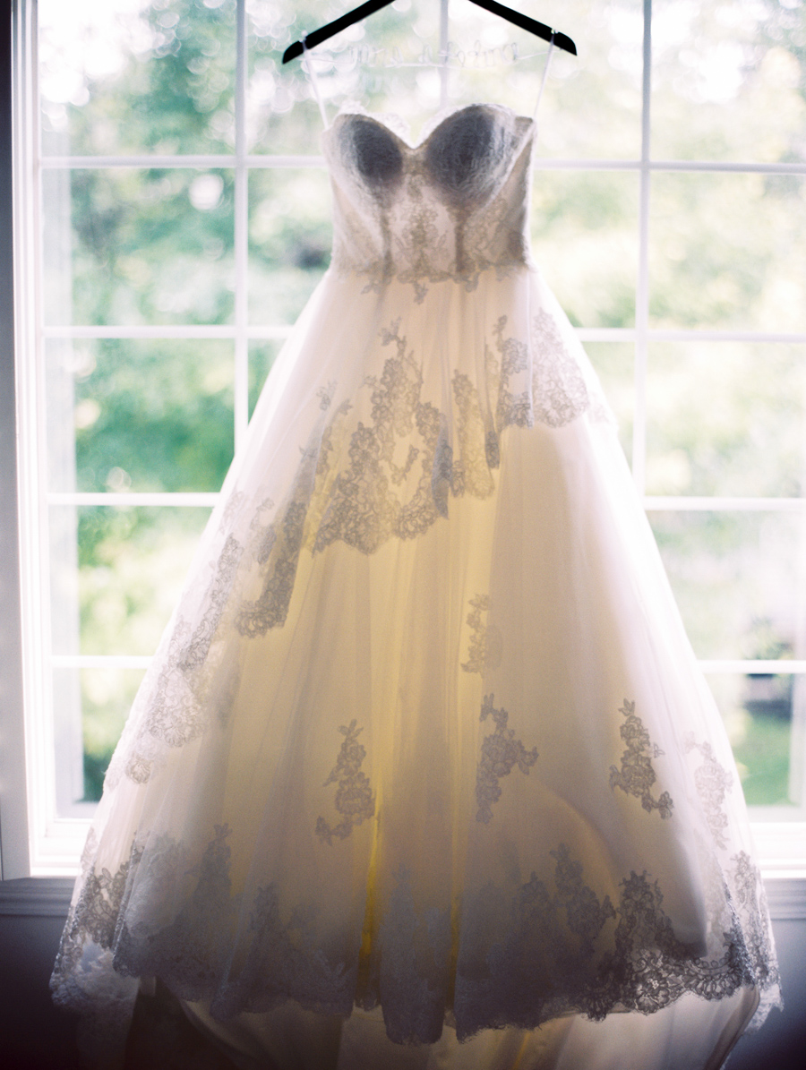 A stunning bridal gown by Crystal Bride.