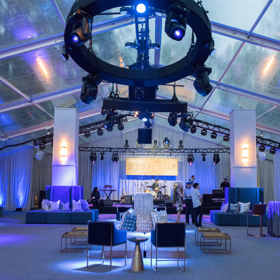 Wheels Up Evening House - Beachview Event Rentals and Design
