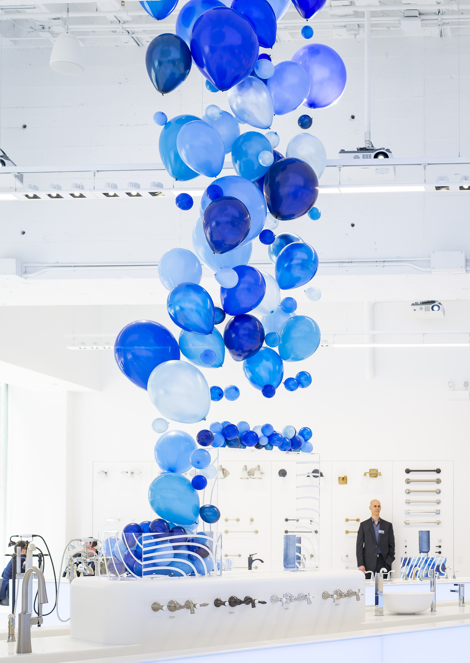 Modern, Gorgeous Showroom Opening - Blue Plate Catering