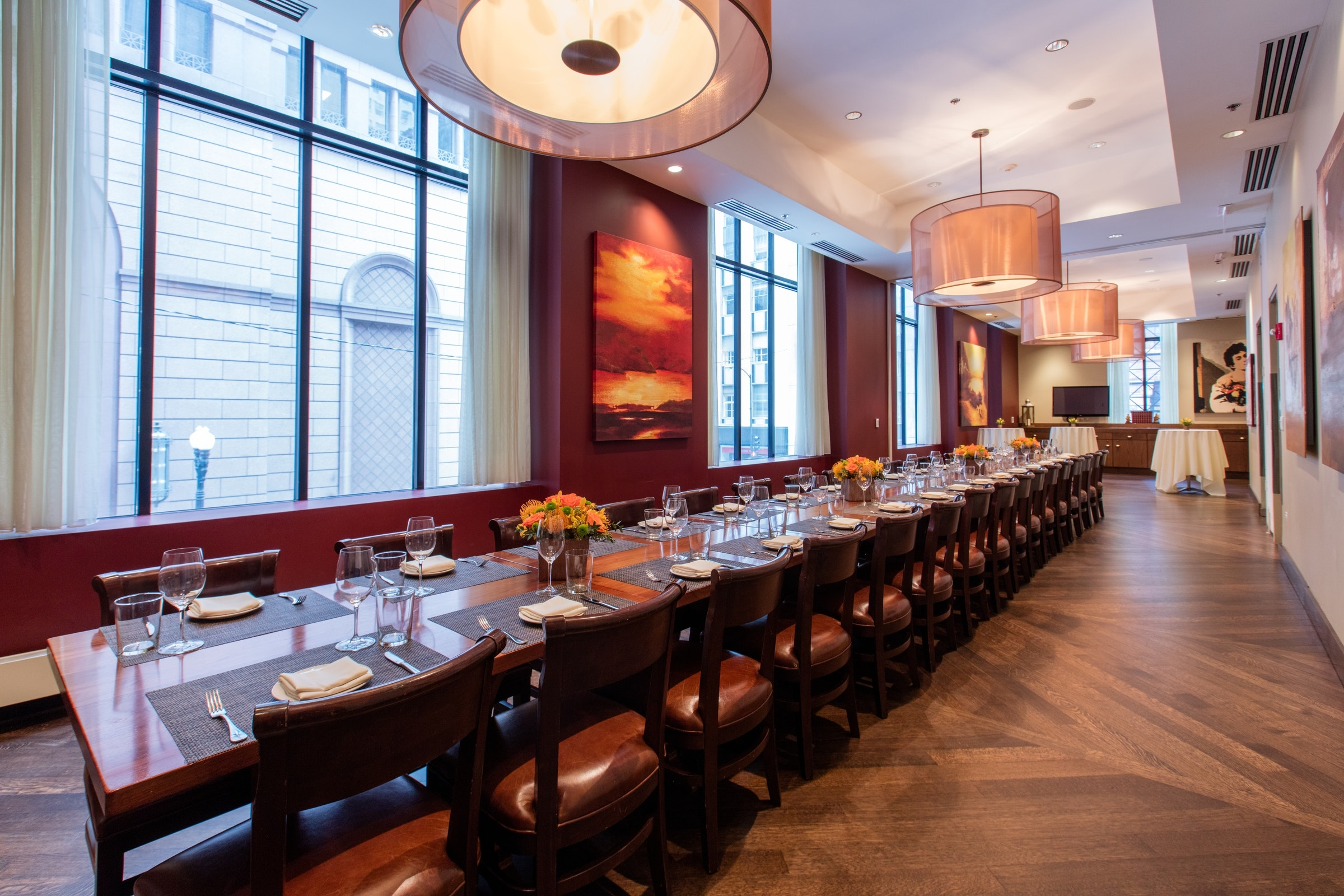 Our Large Private Dining Room Can Accommodate Up To 60 Guests For A Seated  Dinner,