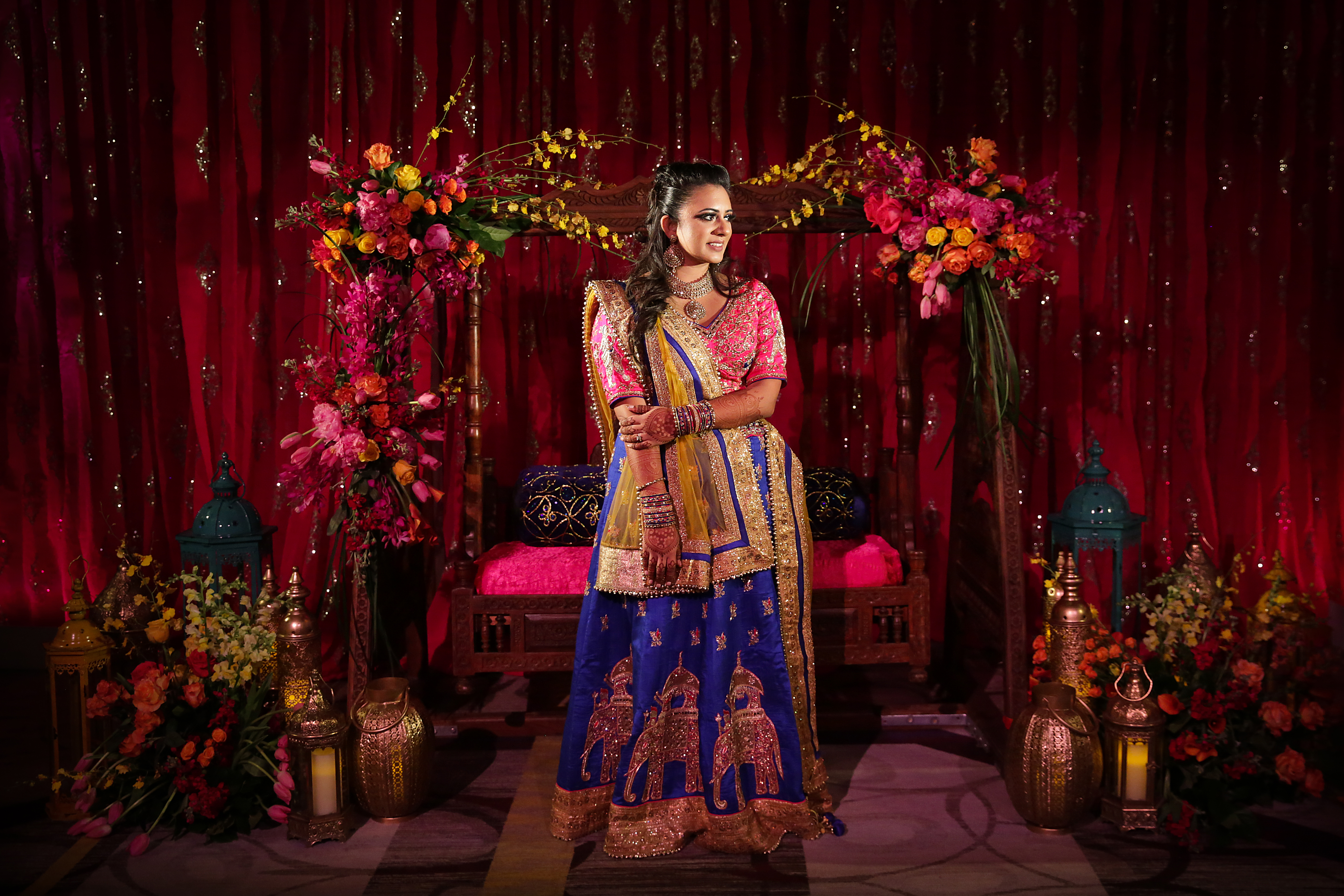 EFFLORESCENT NEW JERSEY WEDDING - Sonal J. Shah Event Consultants