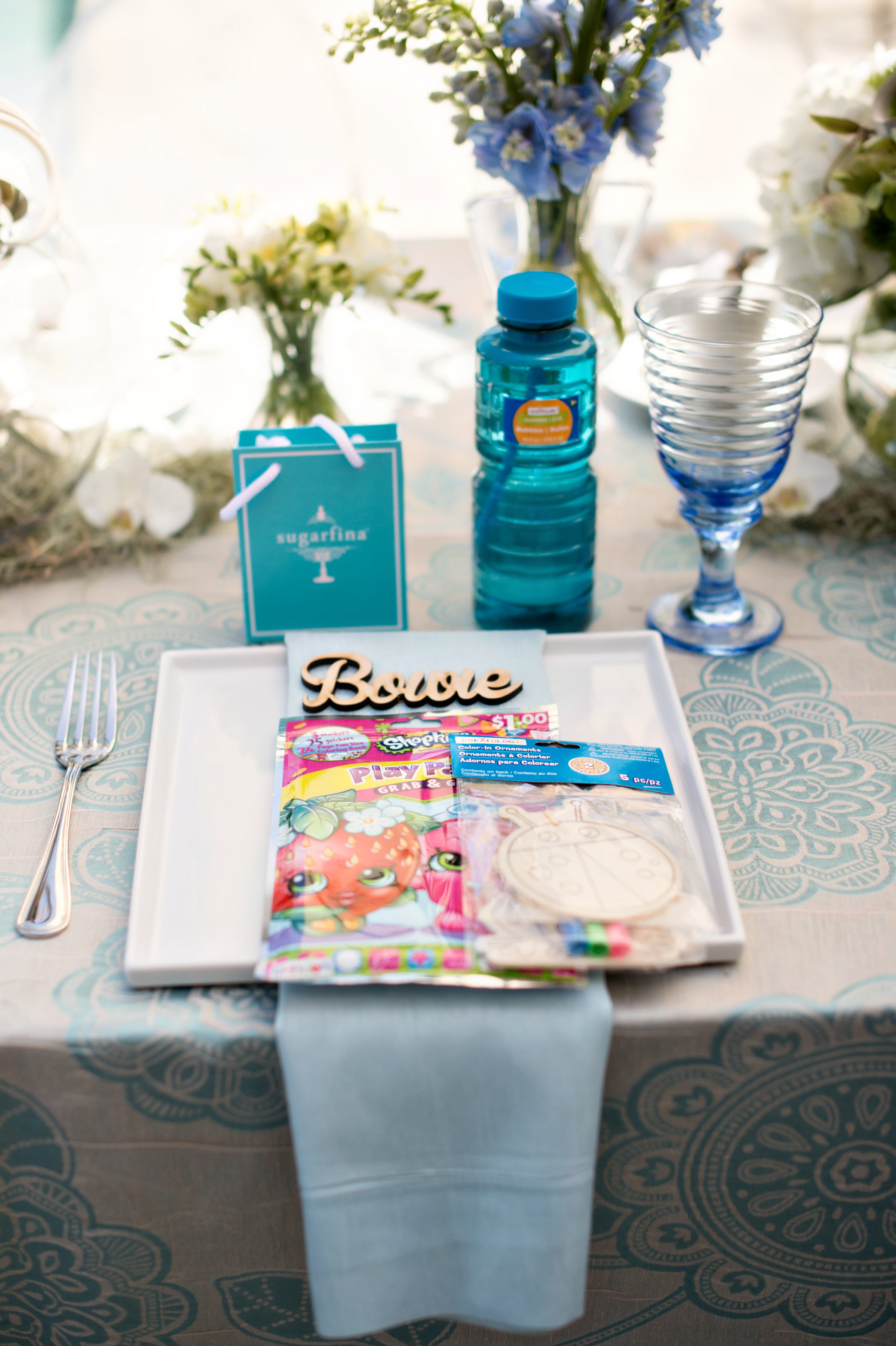 Poolside Tea Party Baby Shower - Marketa Events