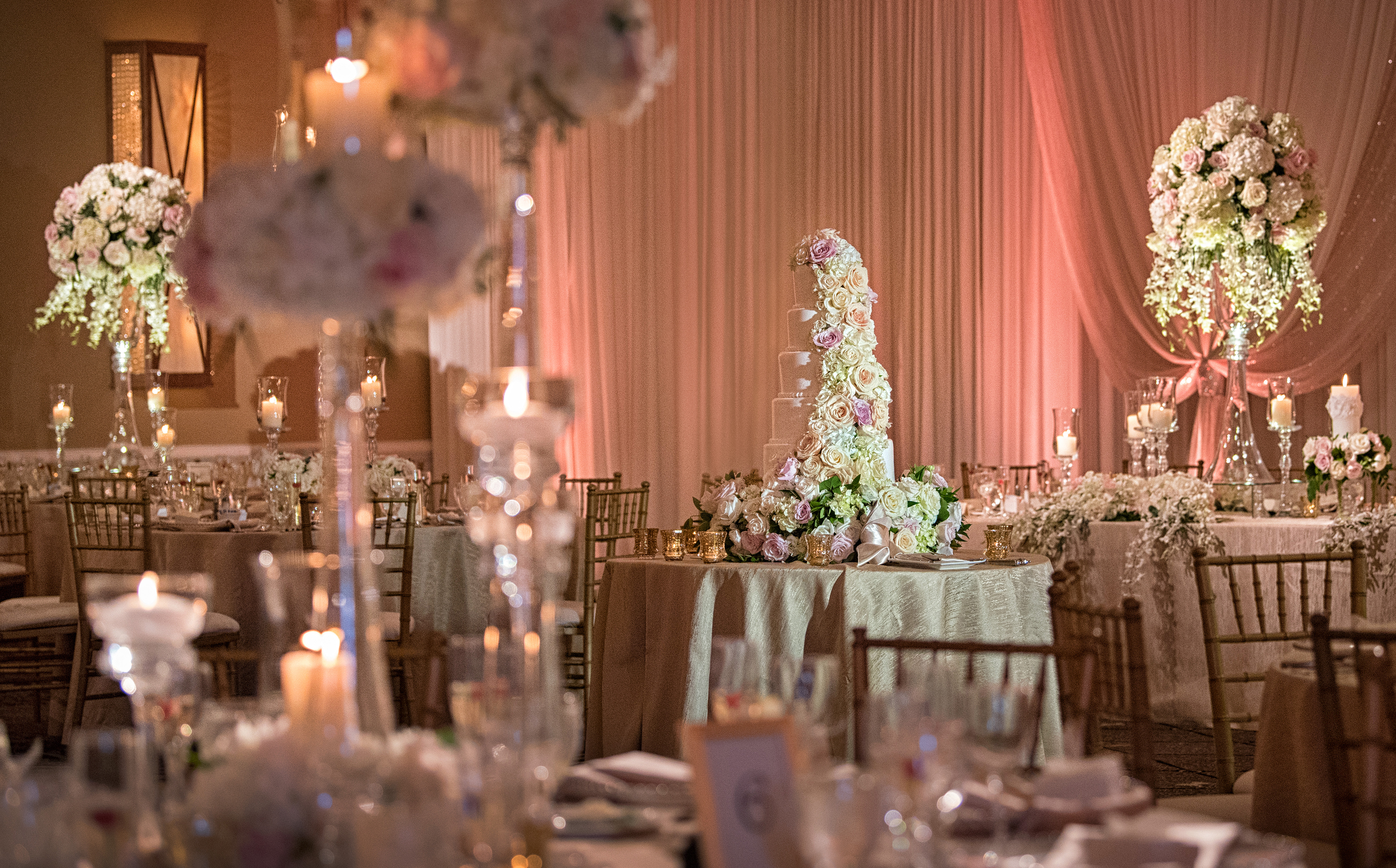 Beautiful wedding at Concorde Banquets in Kildeer, IL. Flowers and décor by Yanni Design Studio. Tom Manikas of Manikas Designs & Events planned and made the day enjoyable and fun.
