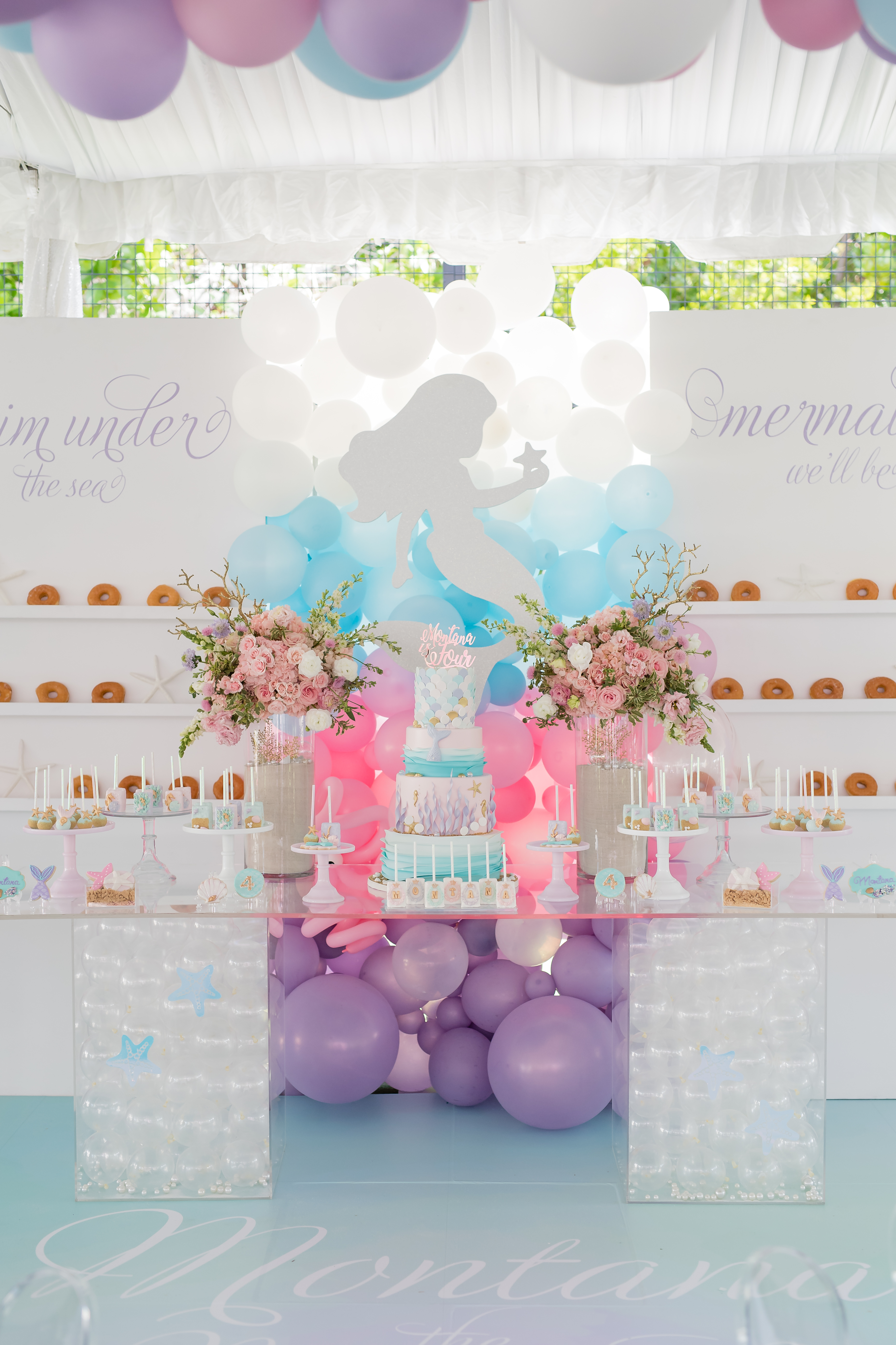 Montana's Mermaid Party - One Inspired Party