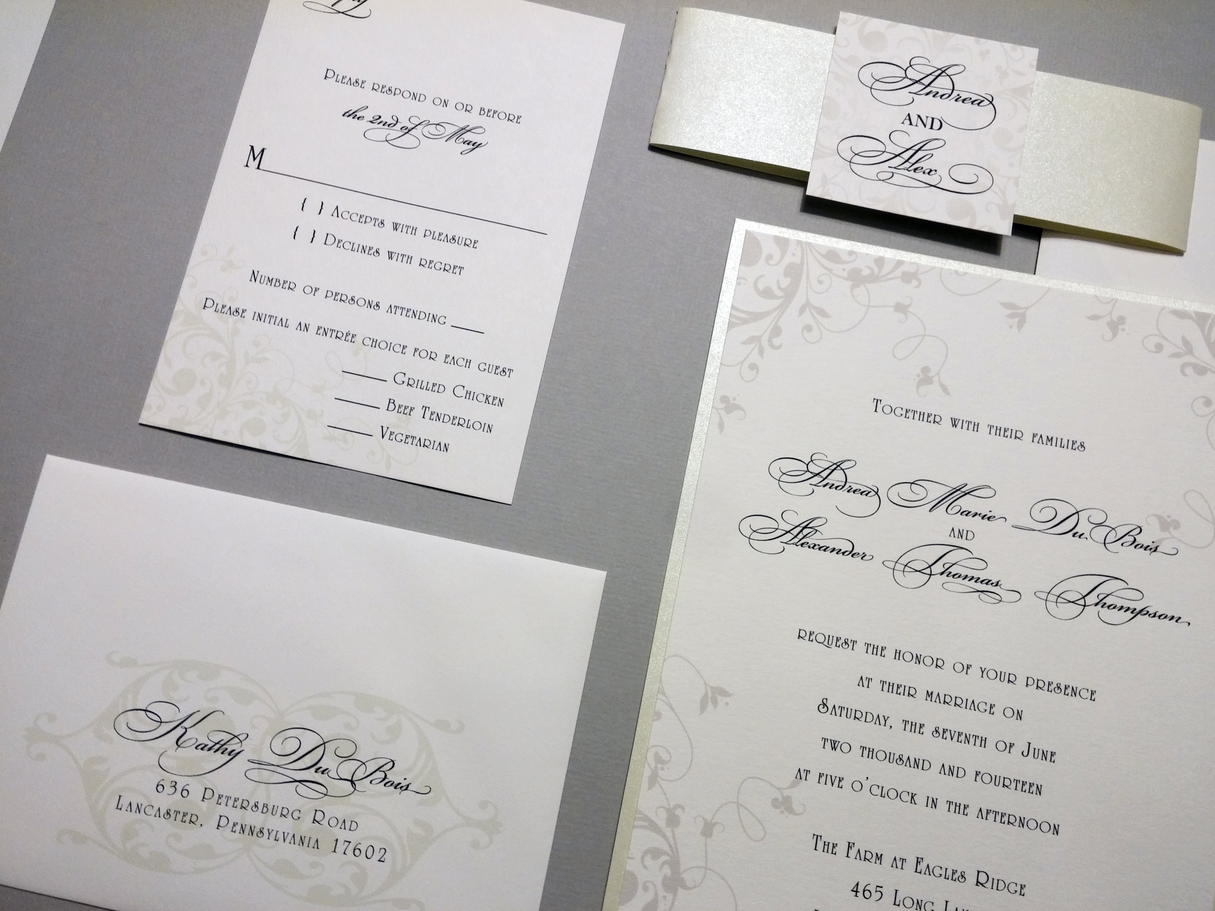 Invitations by Chrissy - Wedding Stationery - PartySlate