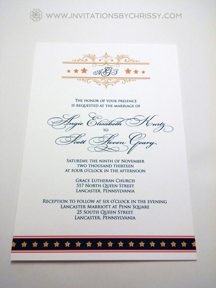 Invitations by Chrissy   Wedding Stationery   PartySlate