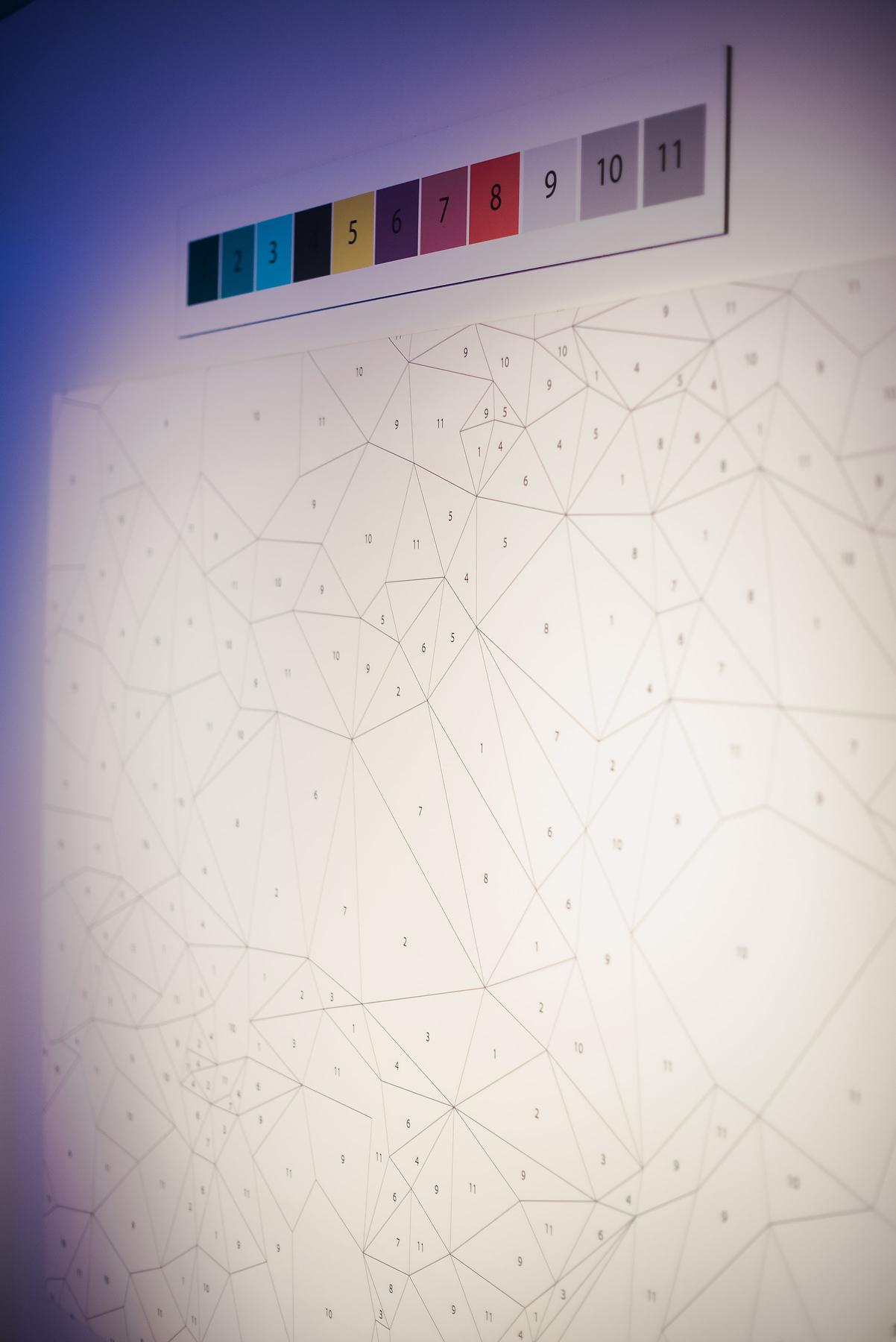 Modern Art Bat Mitzvah - Magnolia Bluebird design & events