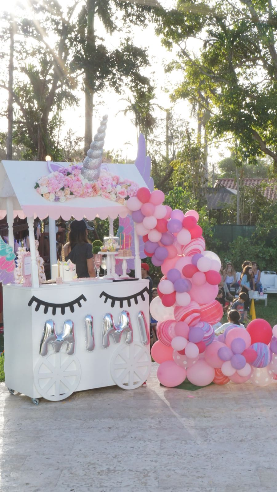 Unicorn & Tsum Tsum Birthday - Plan Design Events