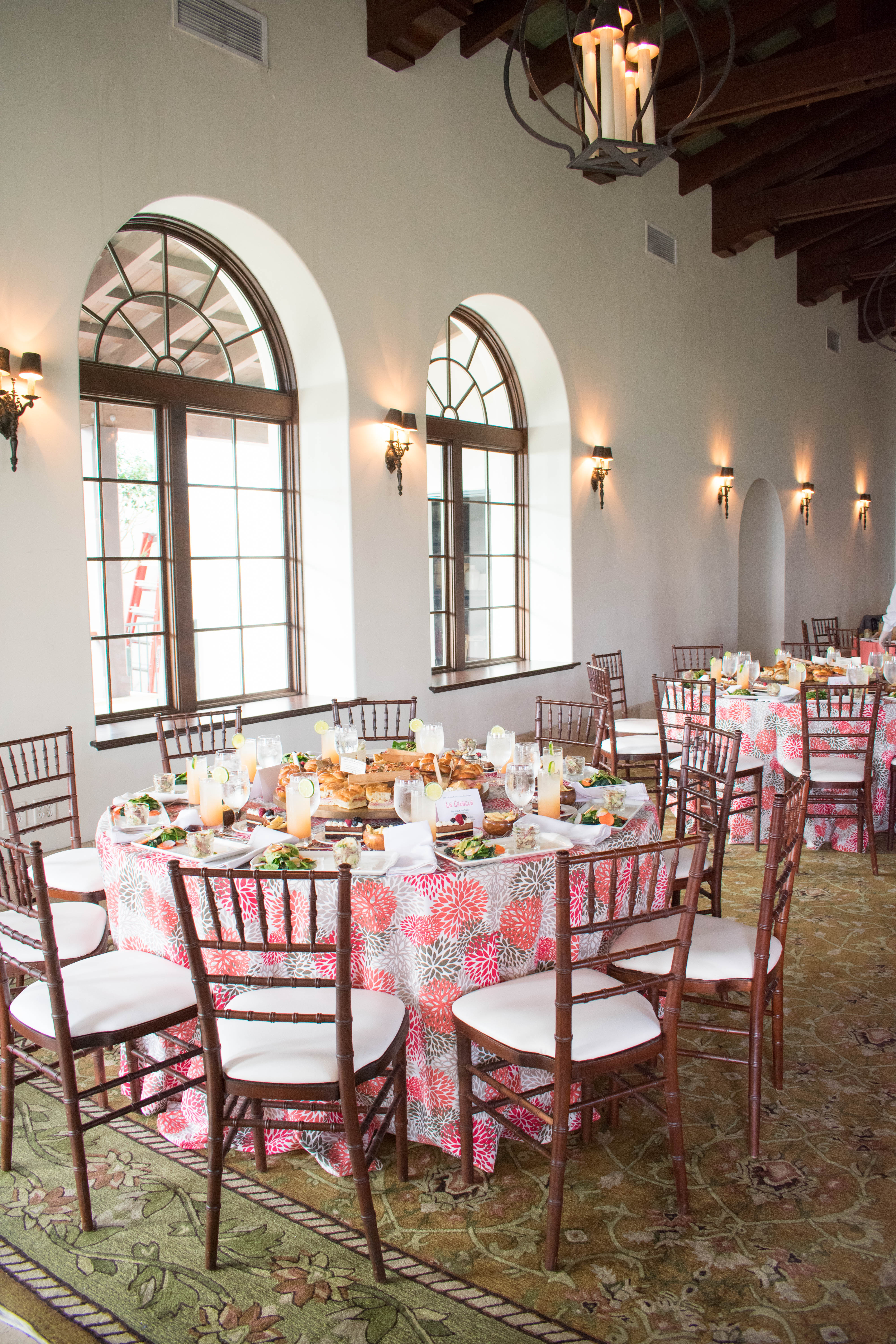 TSC Luncheon and Dinner Event by the Sea - Beachview Event Rentals and Design