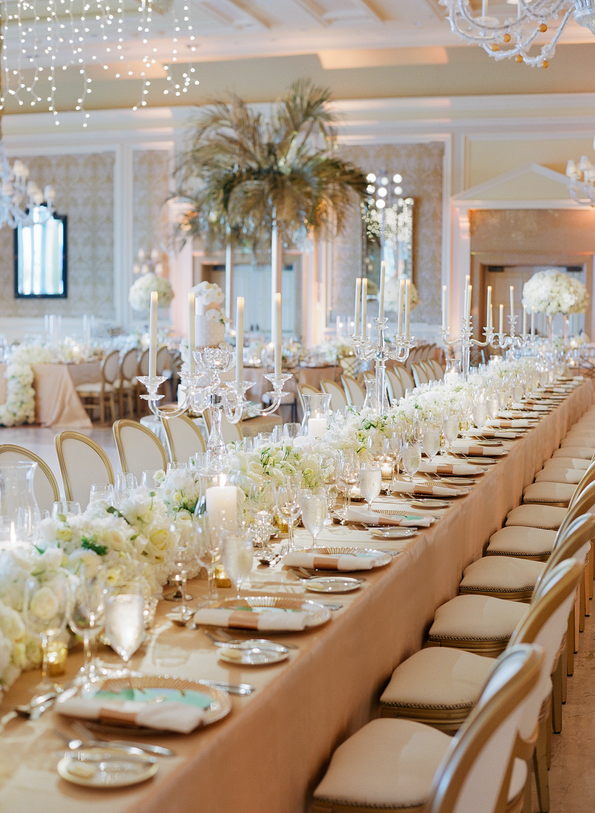 Classic Palm Beach Wedding with a Tropical Flare - Posh Parties