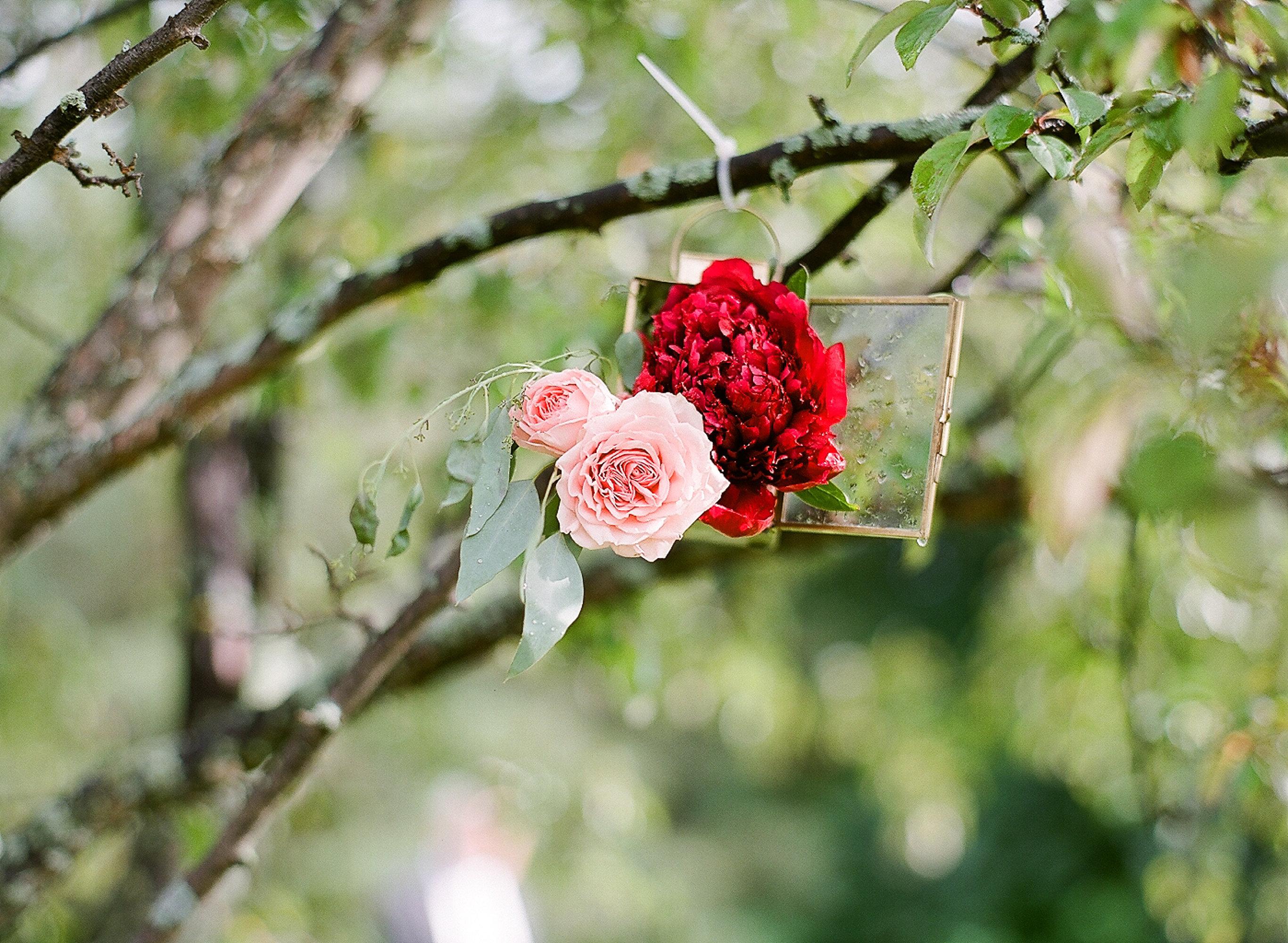 Romantic Garden Wedding in Door County