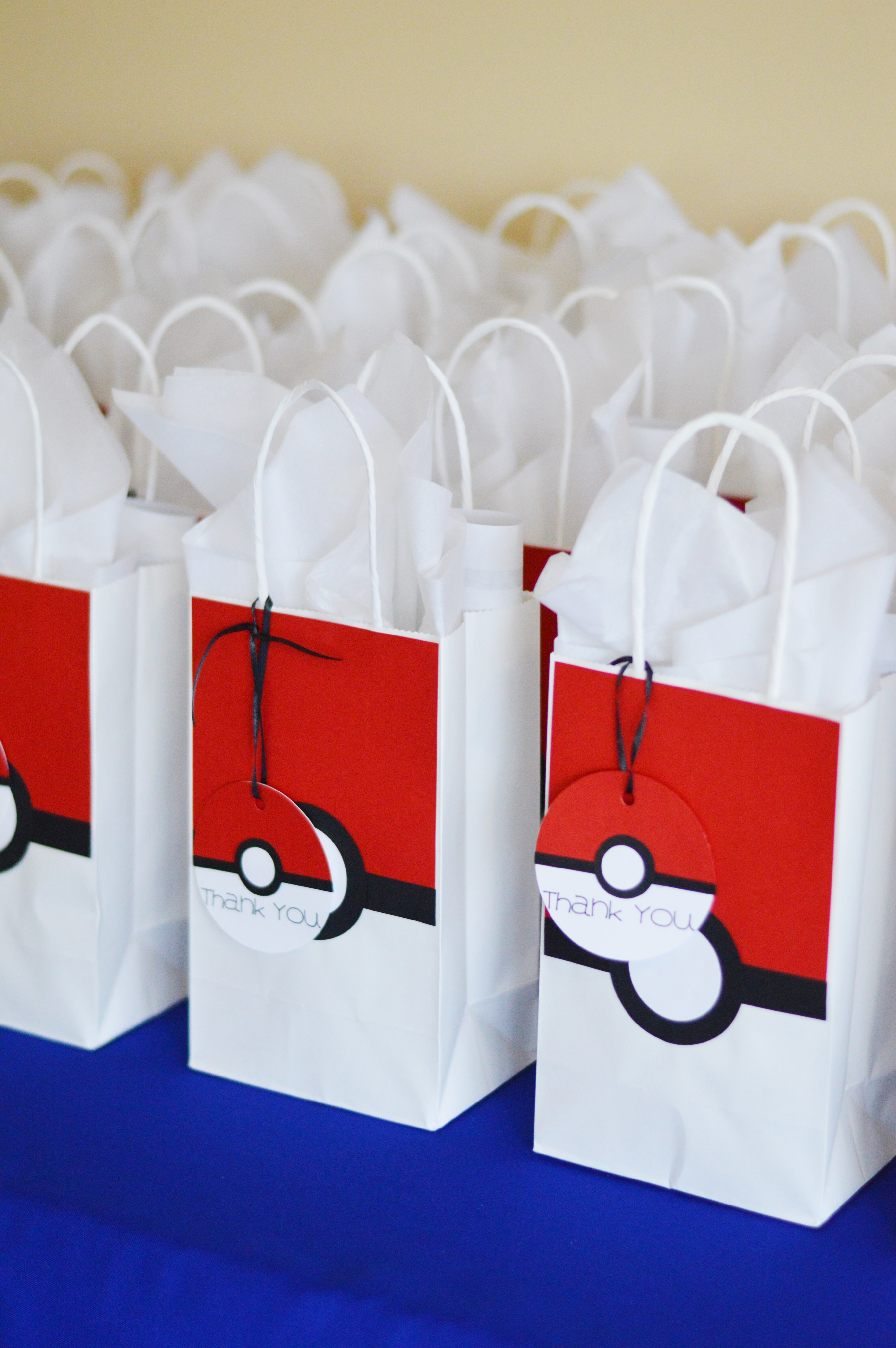 Pokemon 3rd Birthday Party - Wrap It Up Parties