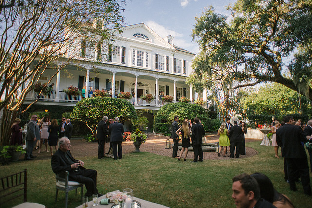 Governor Thomas Bennett House, the perfect backdrop for a Southern wedding!