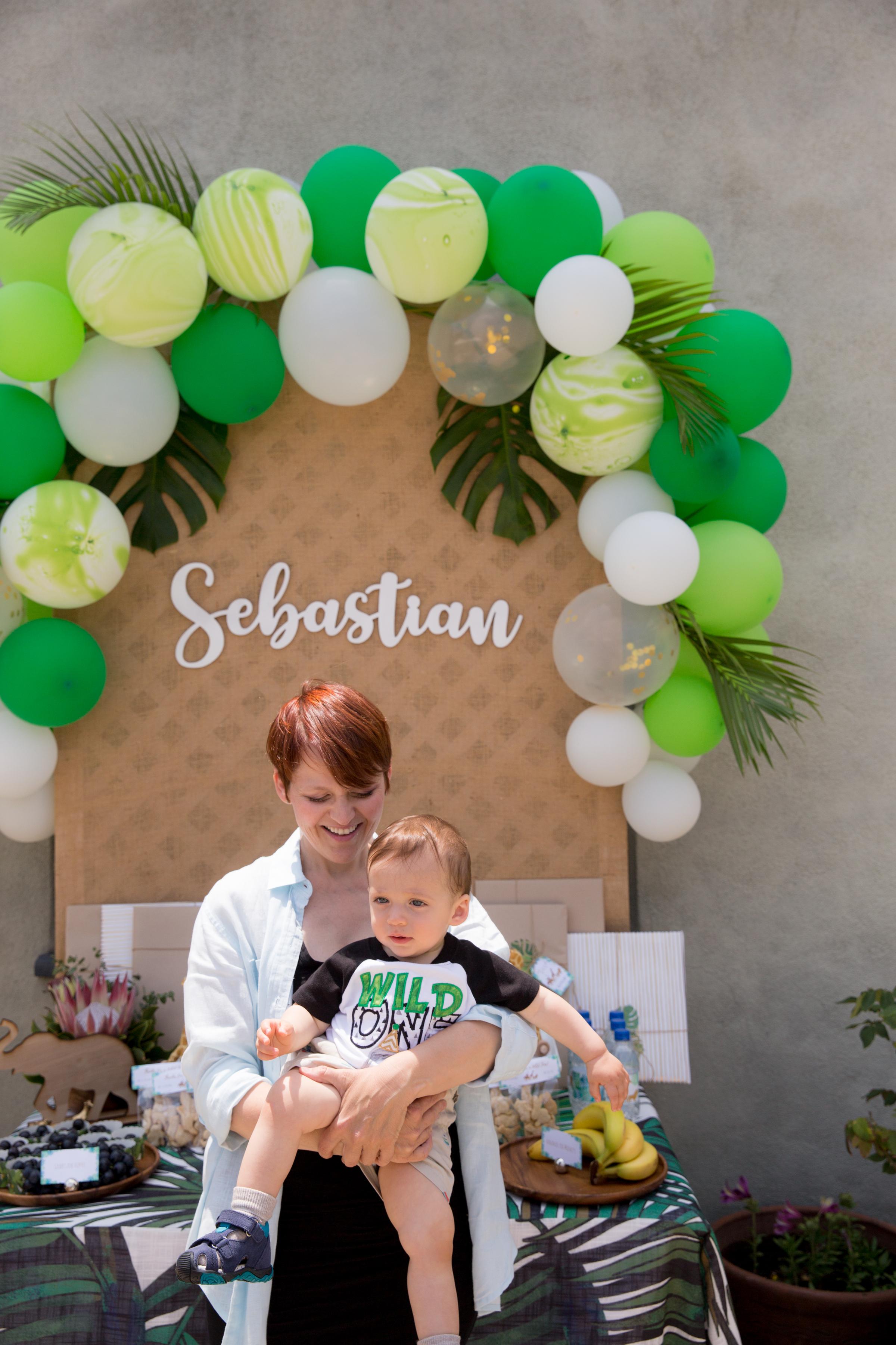 Sebastian's Wild 1st Birthday - Marketa Events