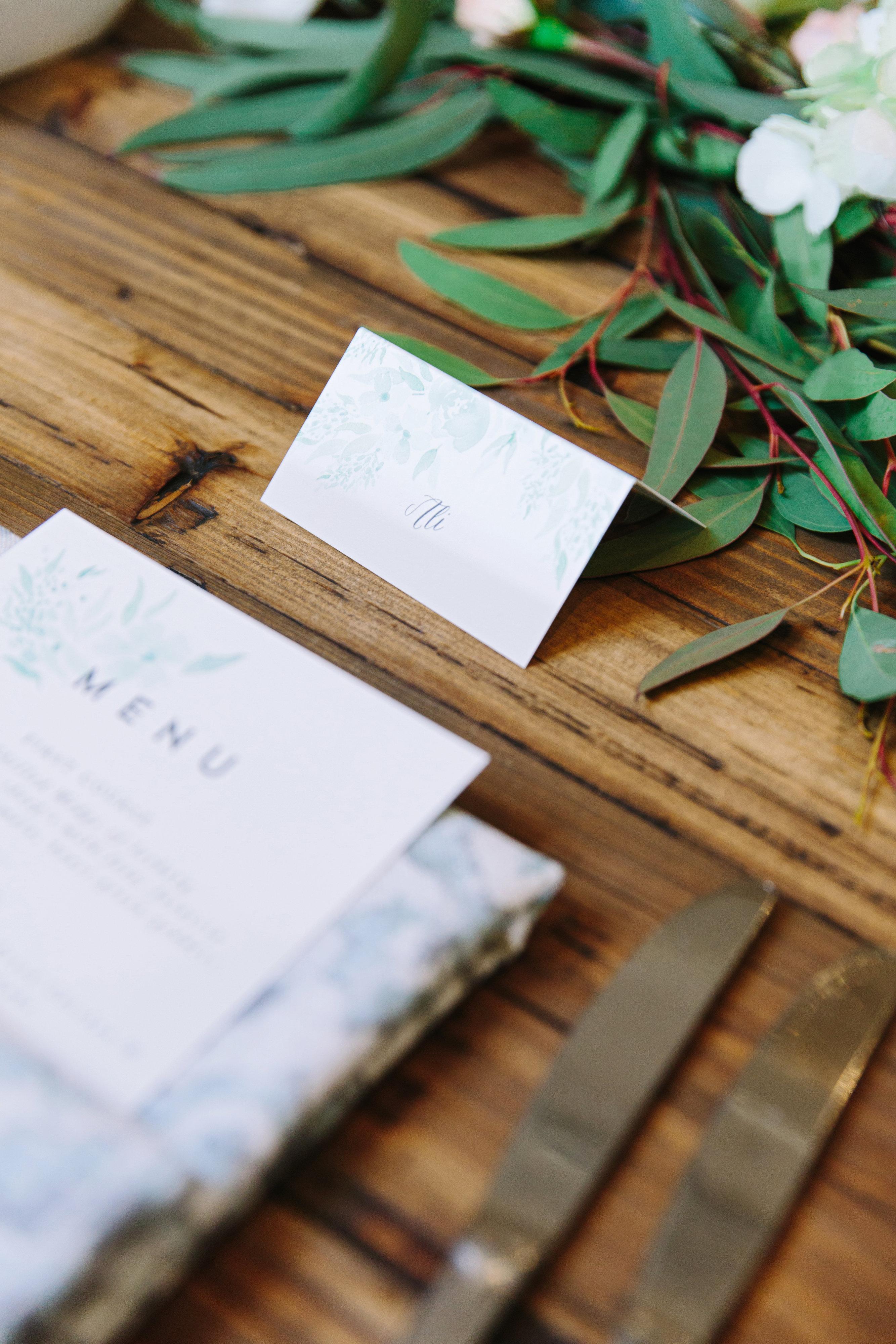 Simple Classic Spring Wedding - BBJ Linen
