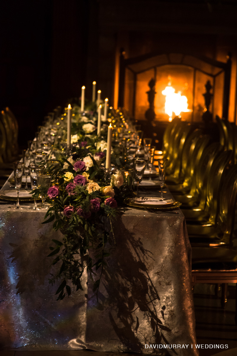 Sultry Winter Wedding - Suzanne B. Lowell Lighting Design