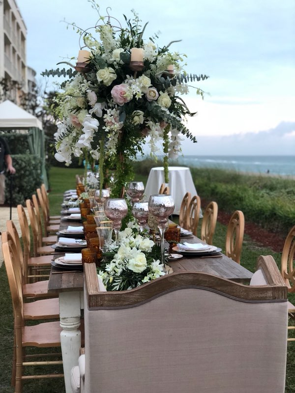 Palm Beach Reception - Daniel Events