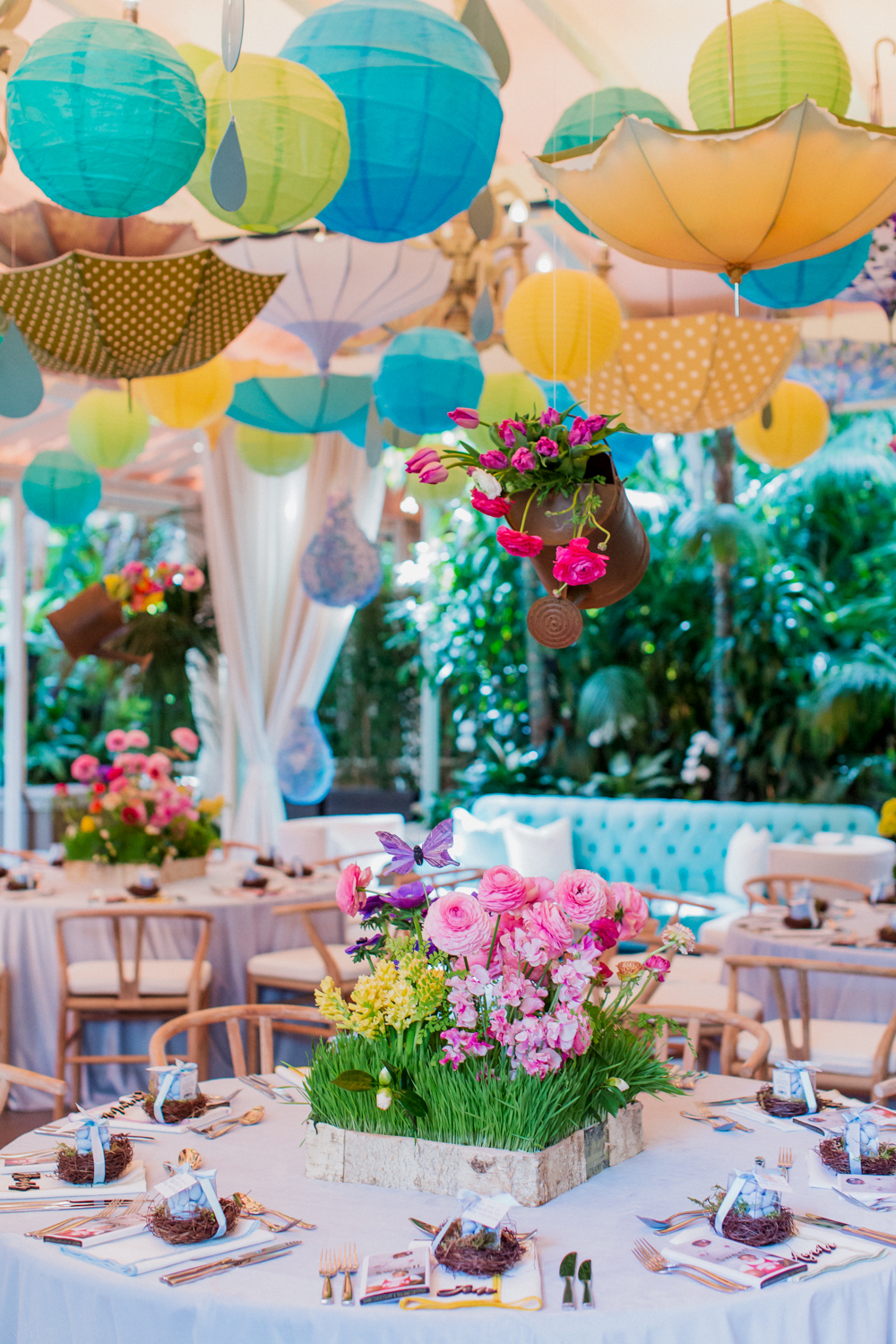 Beautiful Tented Baby Shower - Mindy Weiss Party Consultants