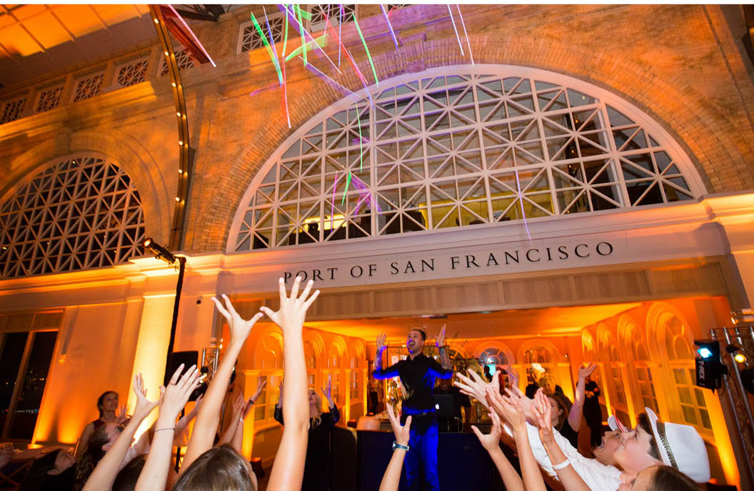 Fun & Festive Bat Mitzvah - San Francisco Ferry Building