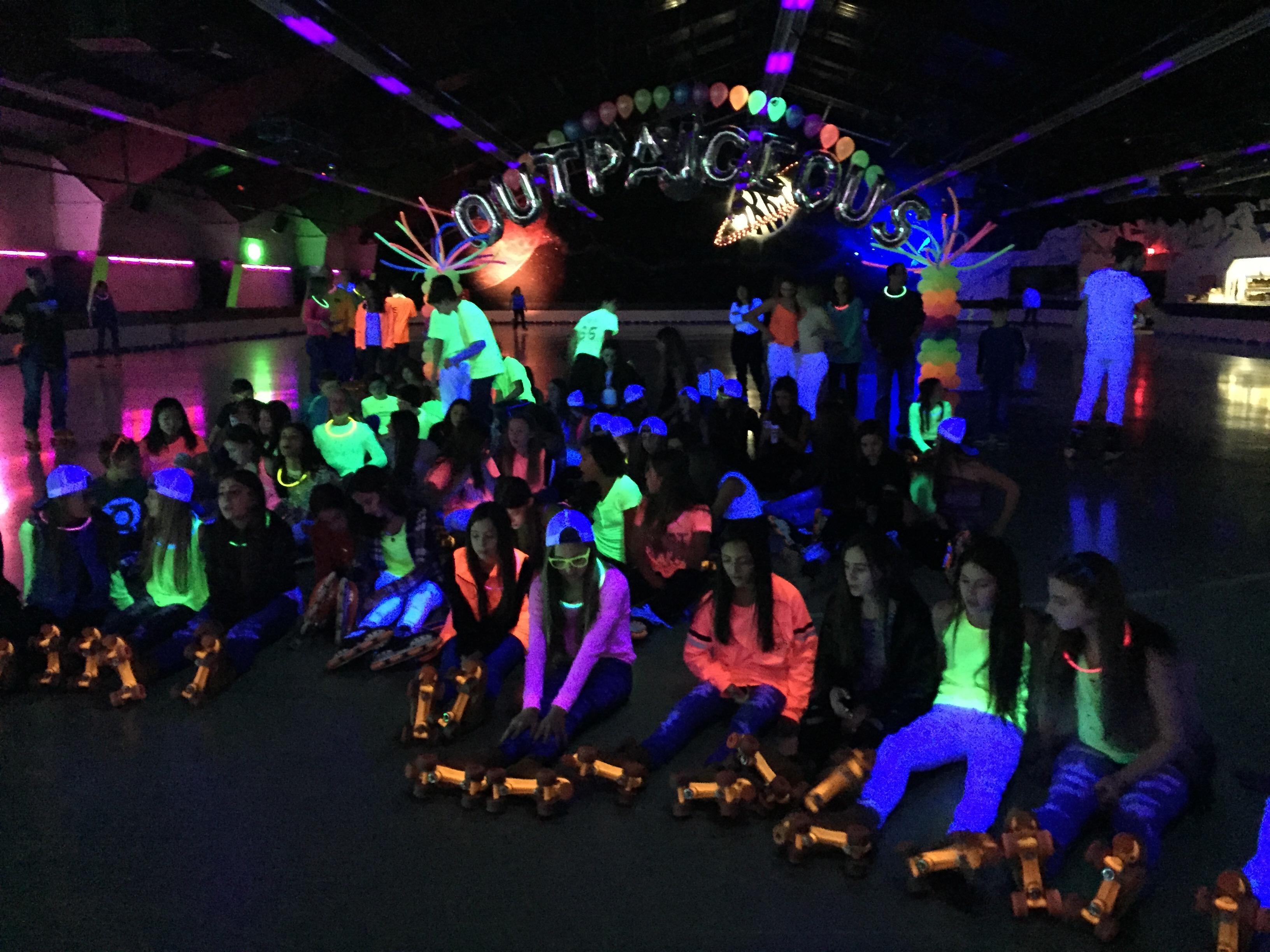 Neon Bat Mitzvah - Elaine Klein Events