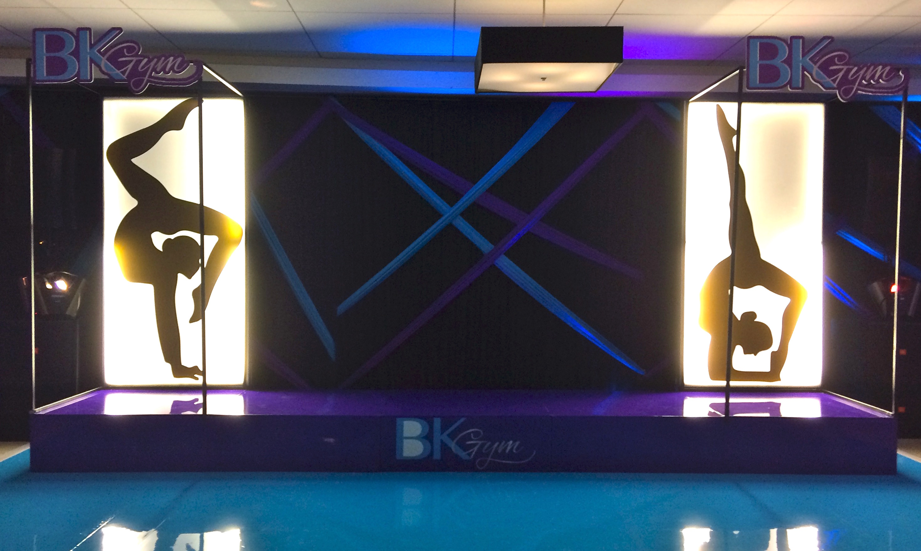 BK Gym Bat Mitzvah - Elaine Klein Events