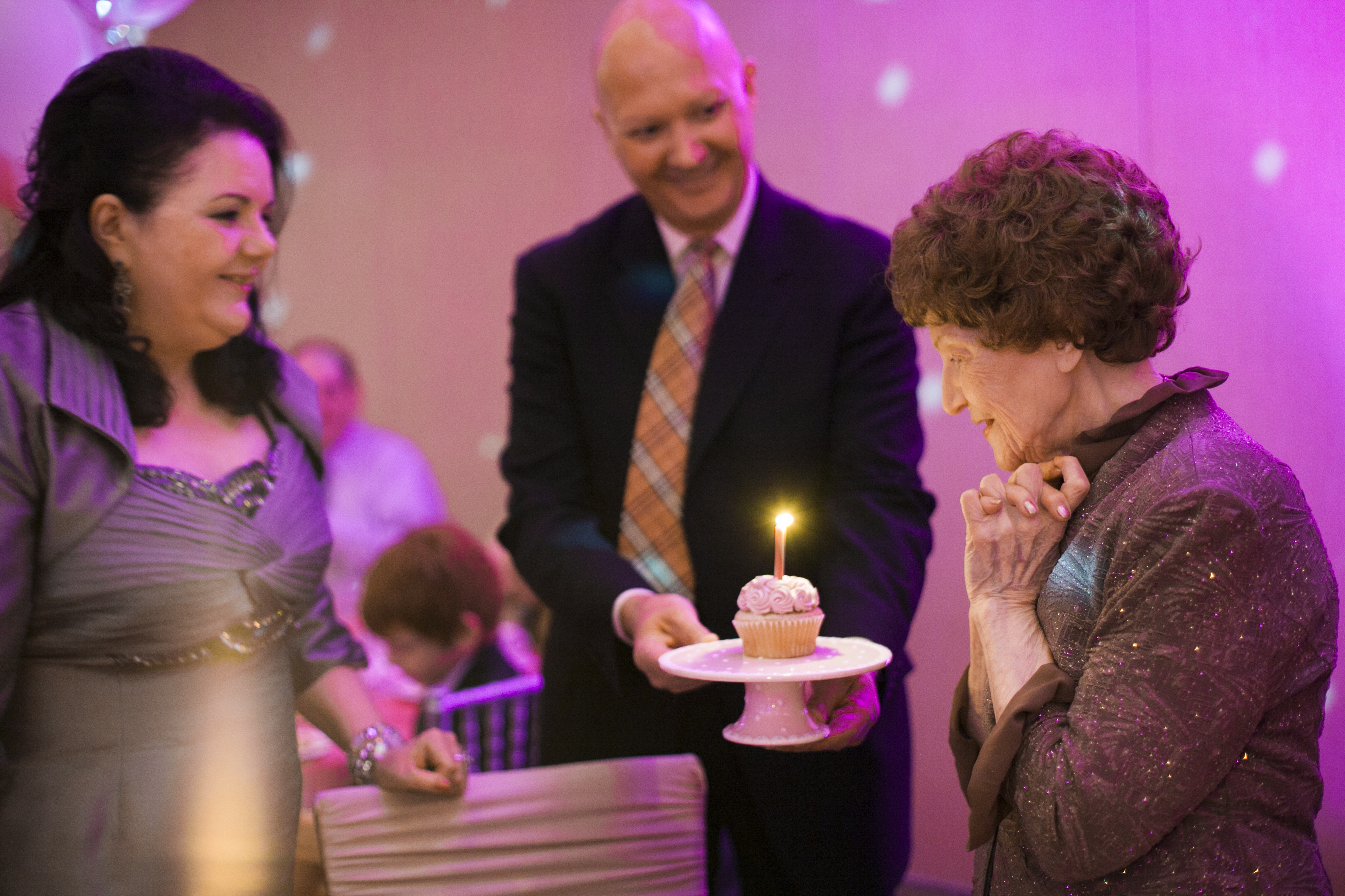 Celebrating 100-years young with one special cupcake from Swirlz Cupcakes!