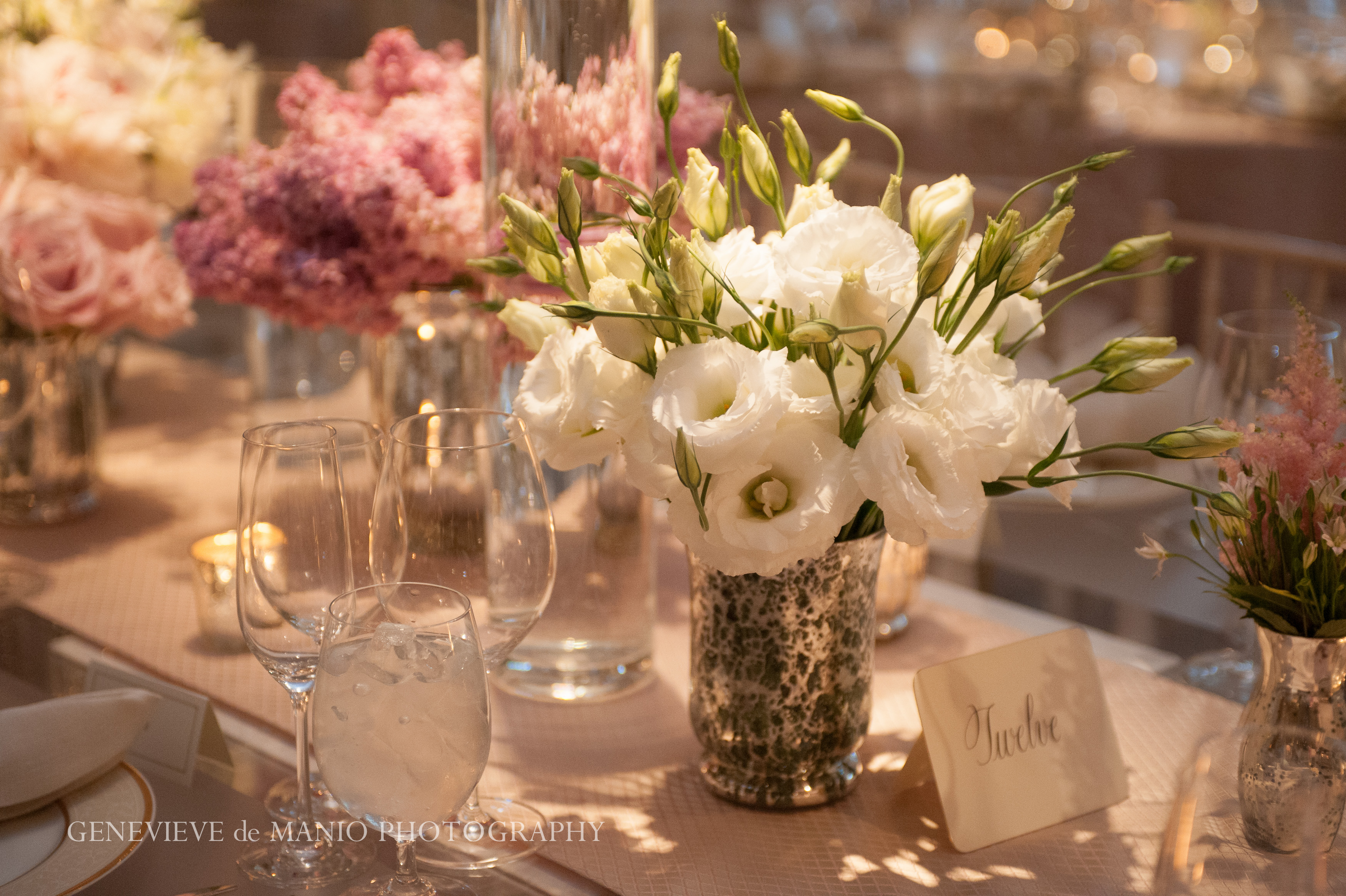 Spring Wedding at the Four Seasons Hotel Boston - Suzanne B. Lowell Lighting Design