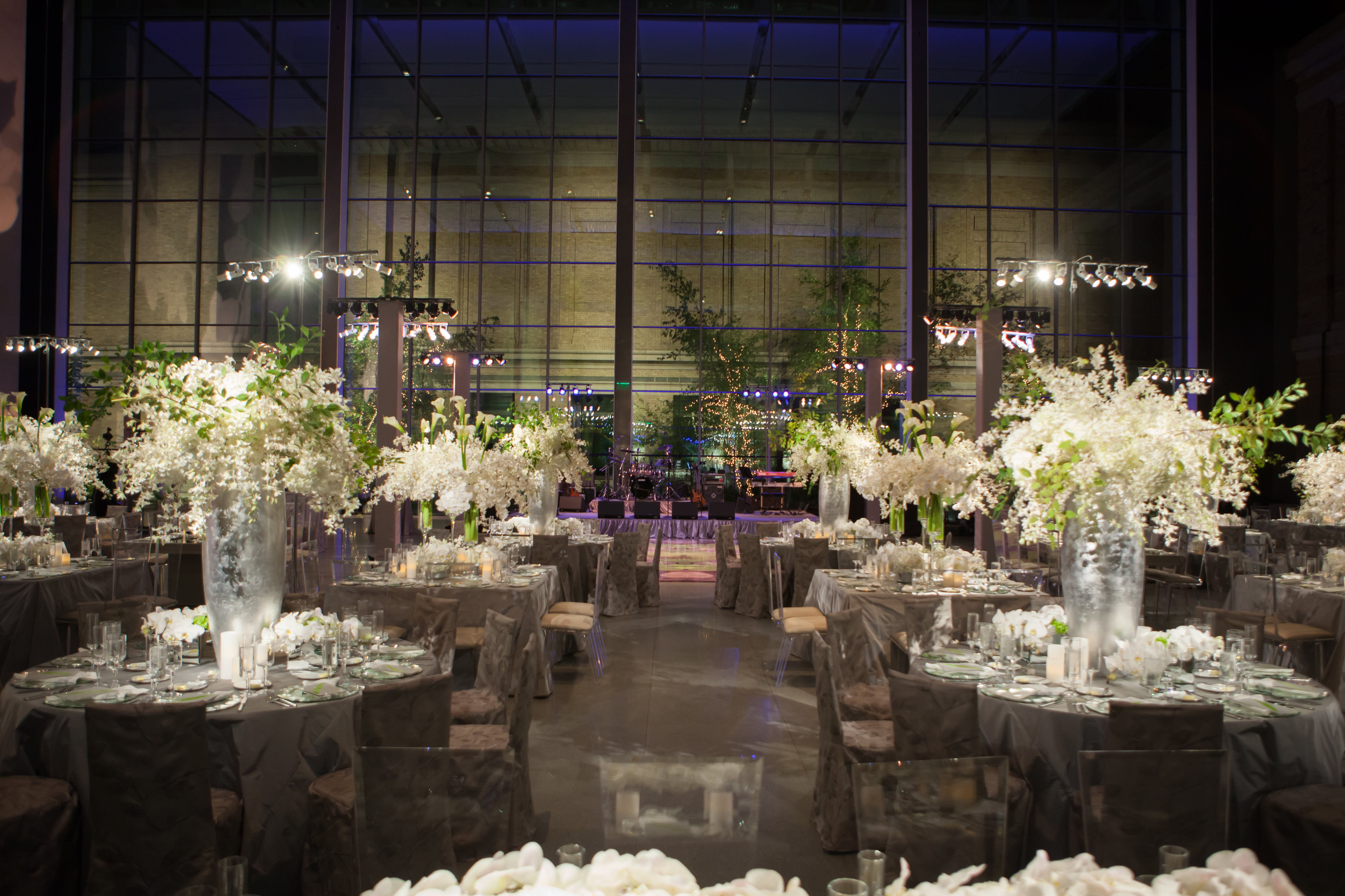 Fall Wedding at the Museum of Fine Arts - Suzanne B. Lowell Lighting Design