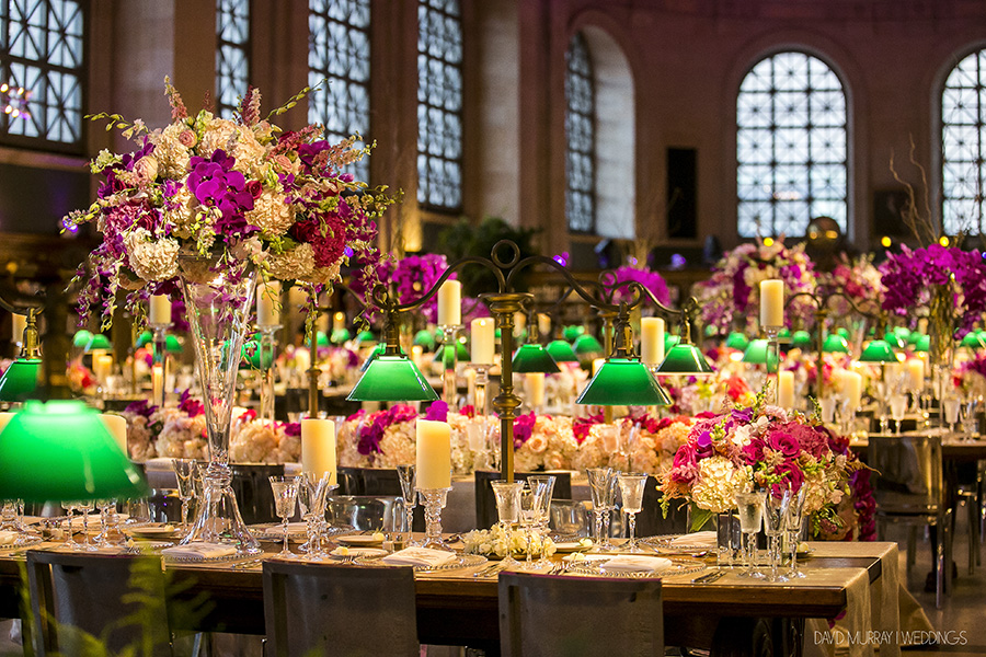 Summer Wedding at The Boston Public Library - Suzanne B. Lowell Lighting Design