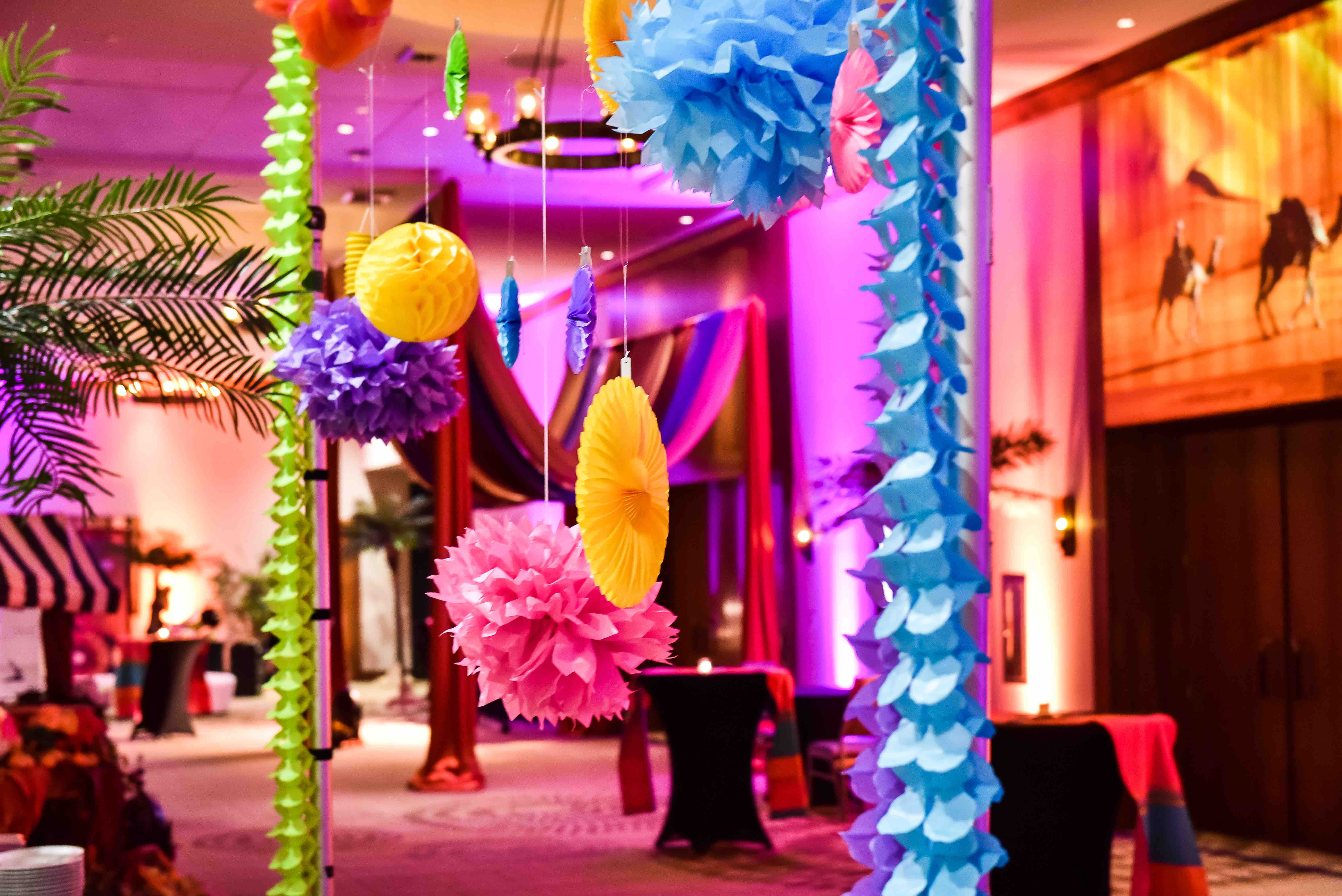 """""""A Night in Morroco"""" Employee Recognition Party - Hummingbird + Anchor Events"""