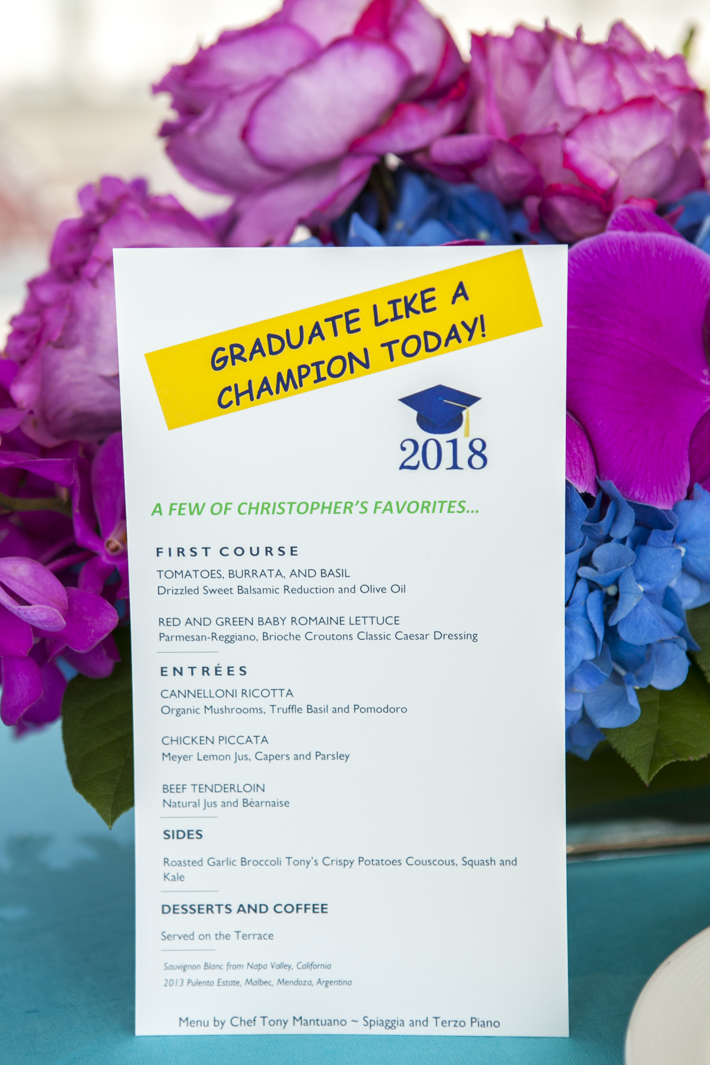 Colorful Graduation at the Chicago Art Museum - Paulette Wolf Events
