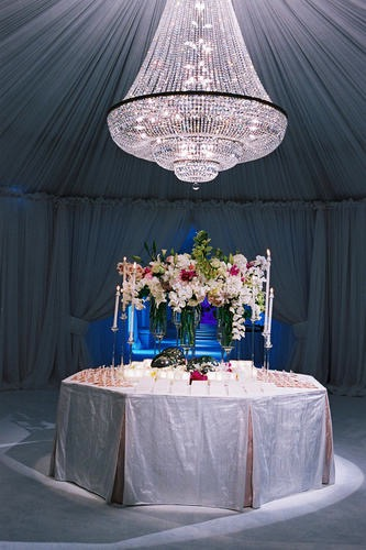 Stunning Tented Wedding - Suzanne B. Lowell Lighting Design
