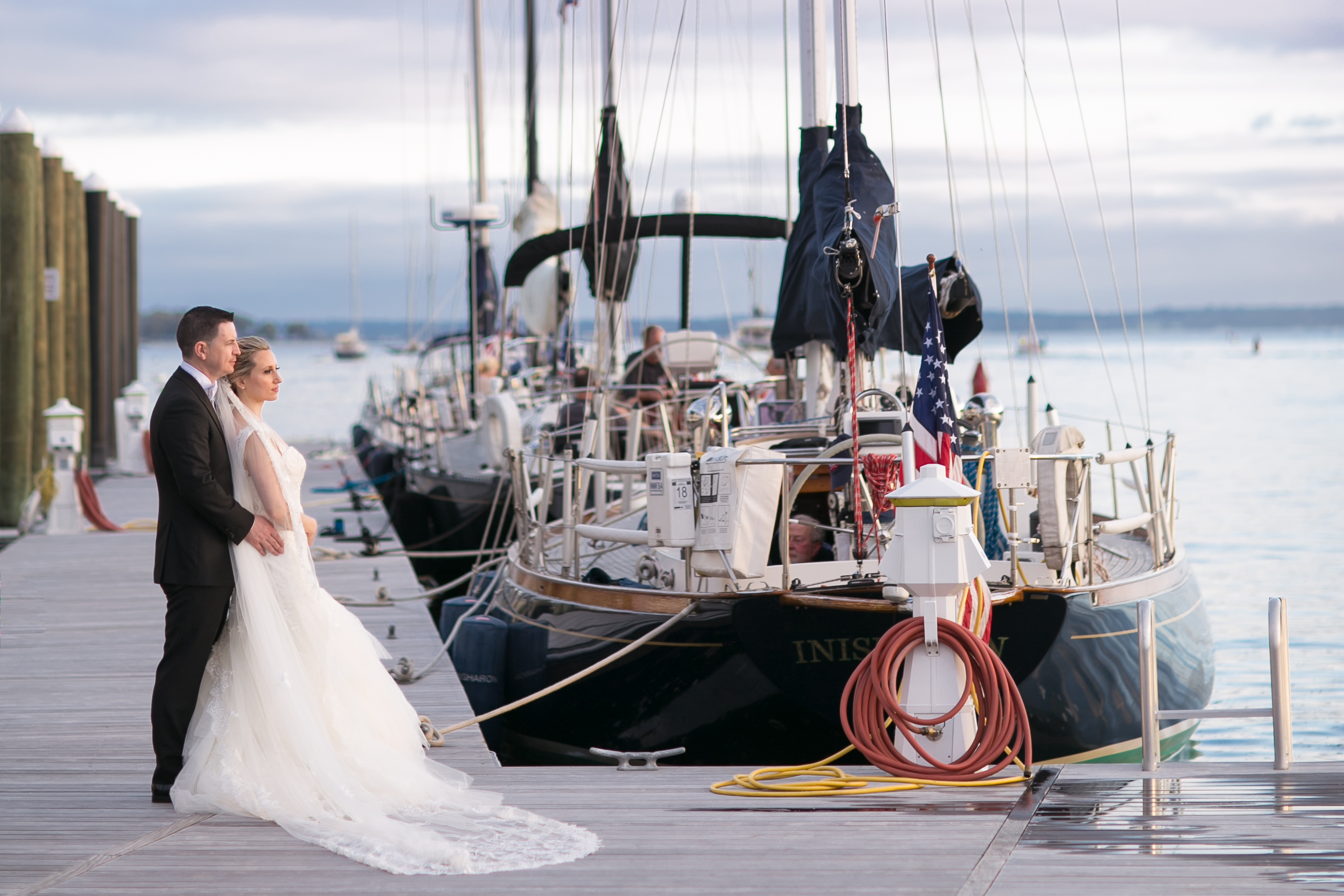 Lovely Greenwich Harbor Wedding - AMG Events and Visuals