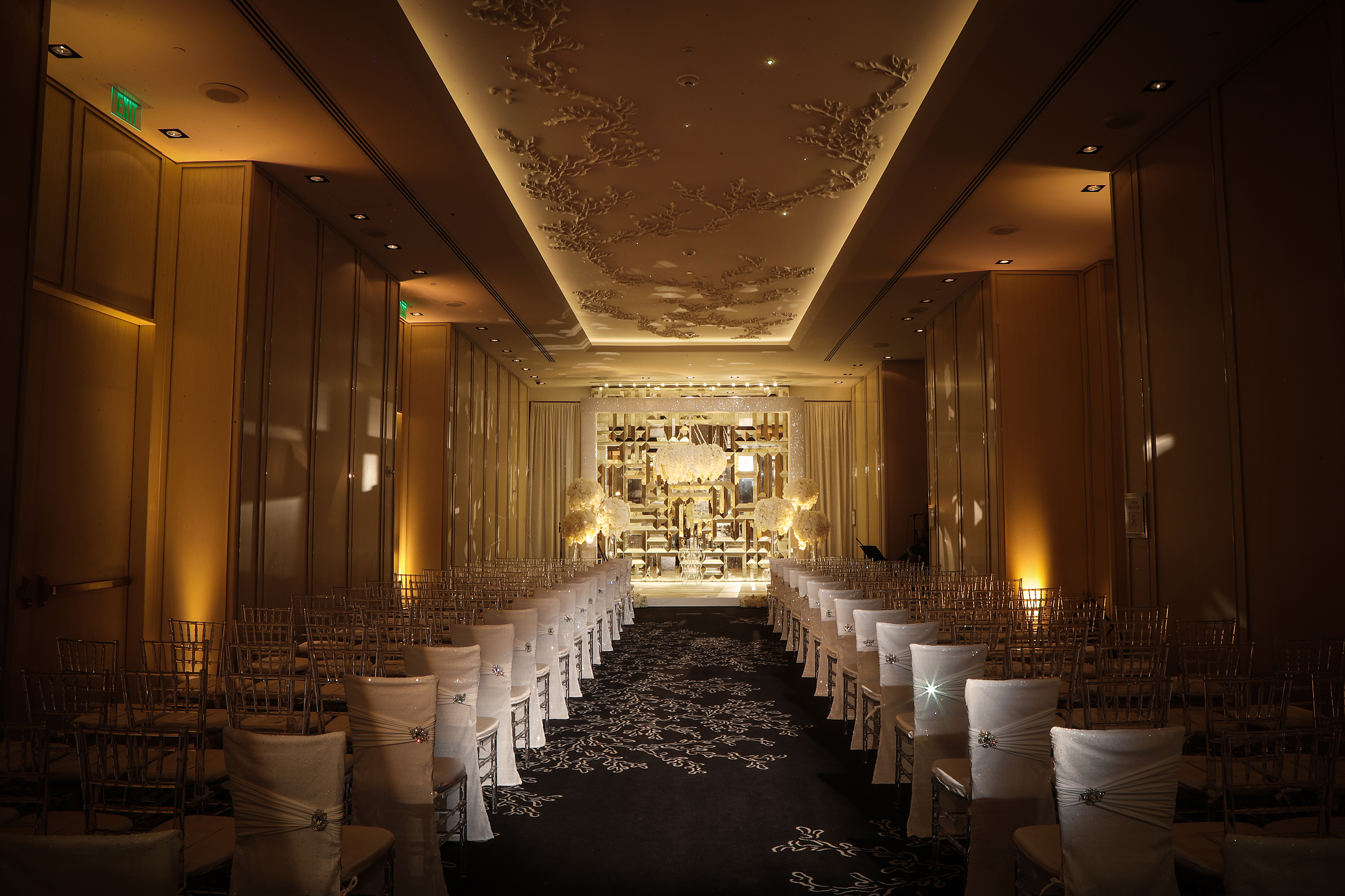 Glamorous Miami Ballroom Wedding - Carrie Zack Events