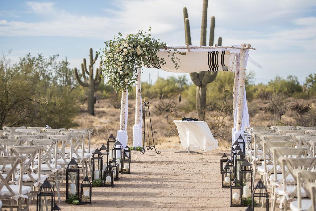Enchanted Dessert Wedding - Your Jubilee Weddings & Events