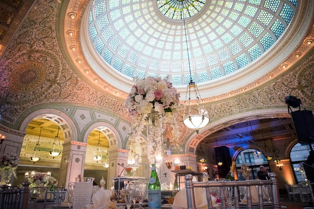 Chicago Cultural Center Wedding.Chicago Cultural Center Gar Hall Rotunda Partyslate