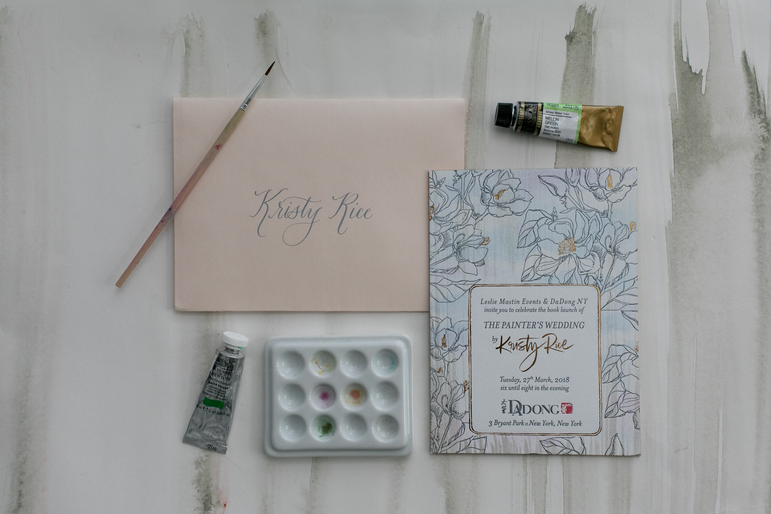 The Painters Wedding Book Launch - Momental Designs