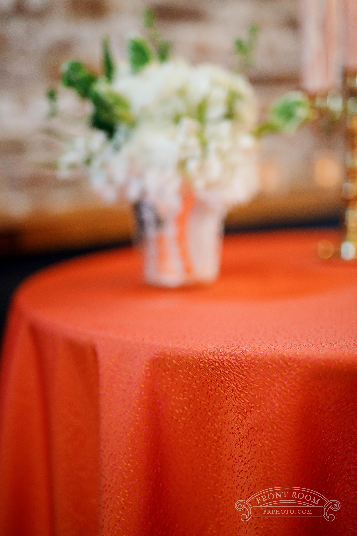 Contrasting Colors Tablescape - Windy City Linen