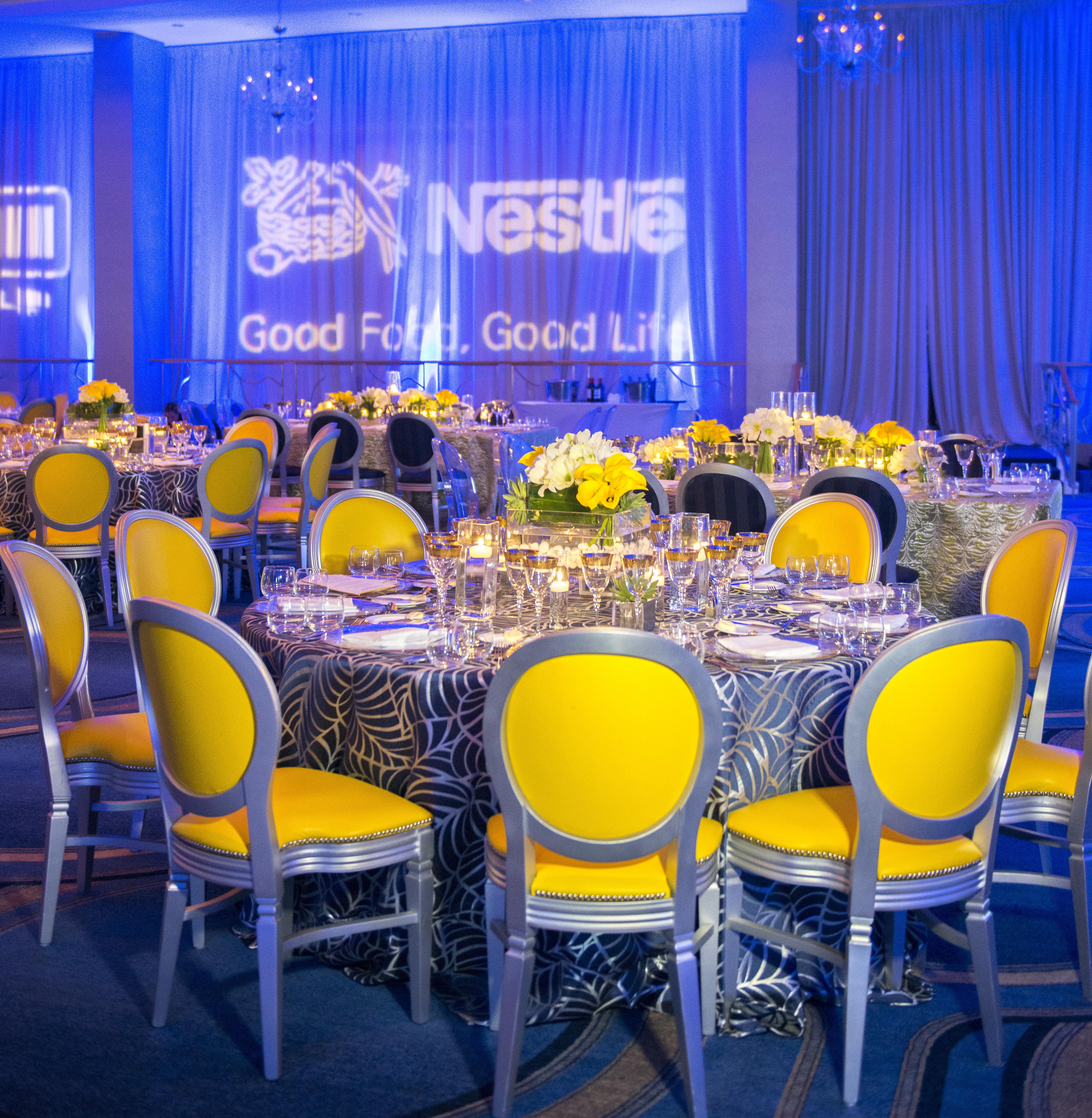 Nestle Corporate Event at Fontainebleau Miami - Carrie Zack Events
