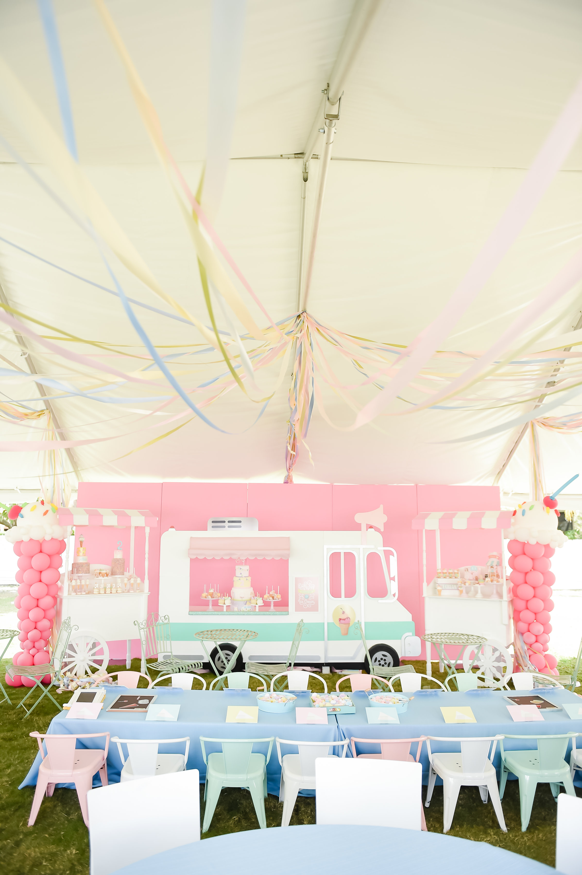 Ice Cream Birthday Party - One Inspired Party