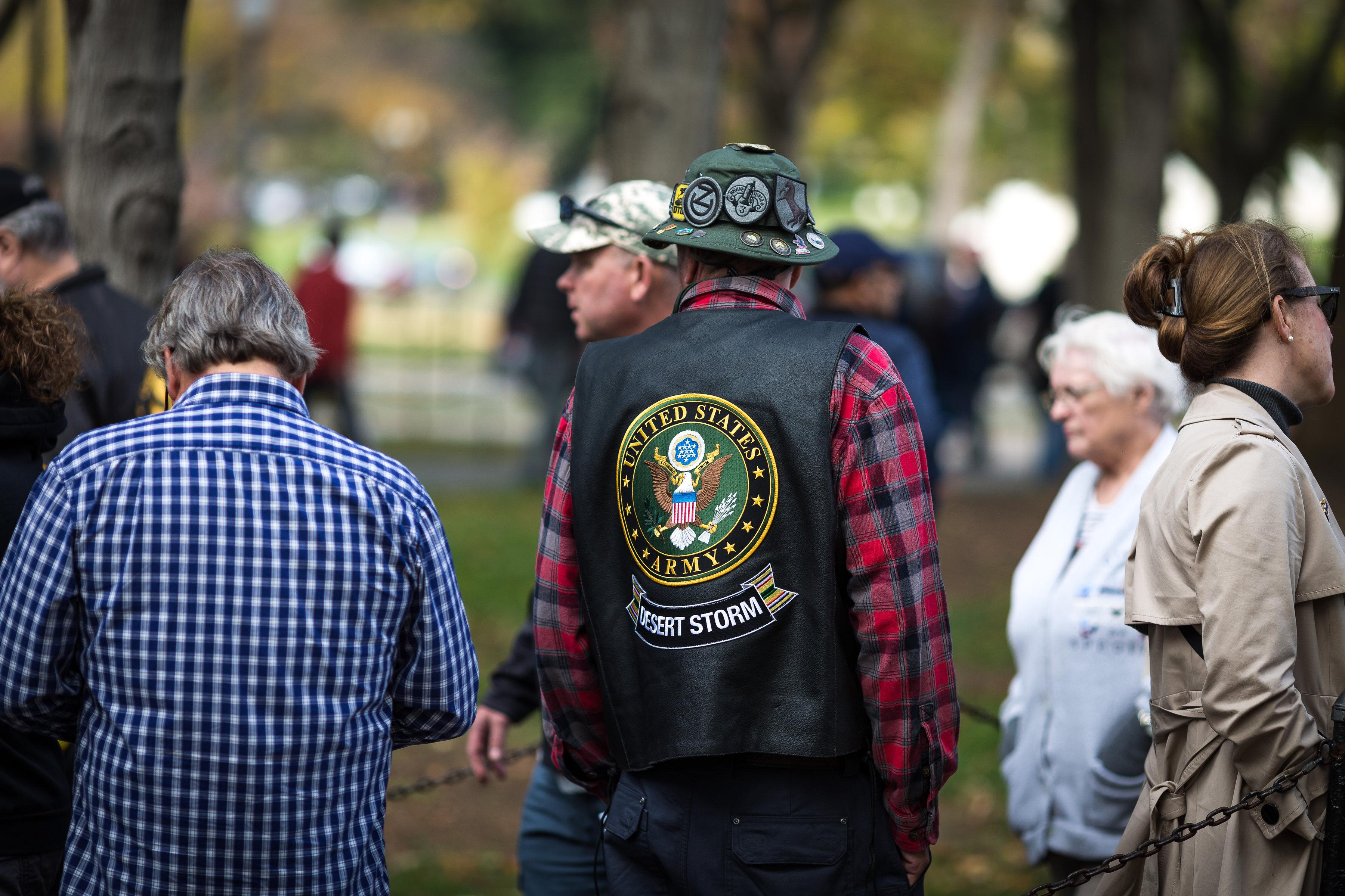 VVMF Veterans Day Ceremony - Something Fabulous