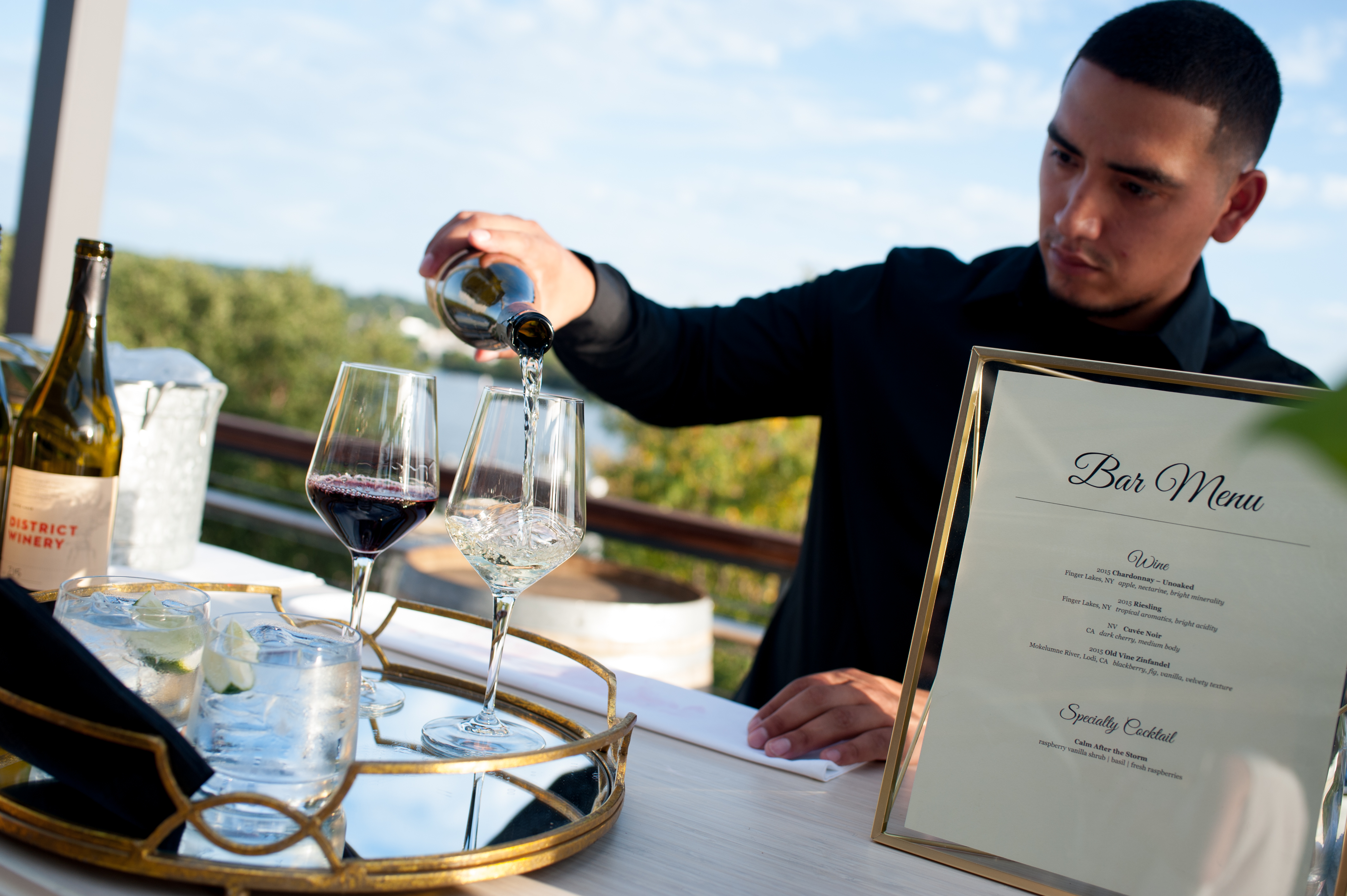 District Winery Exclusive Opening Dinner - Something Fabulous