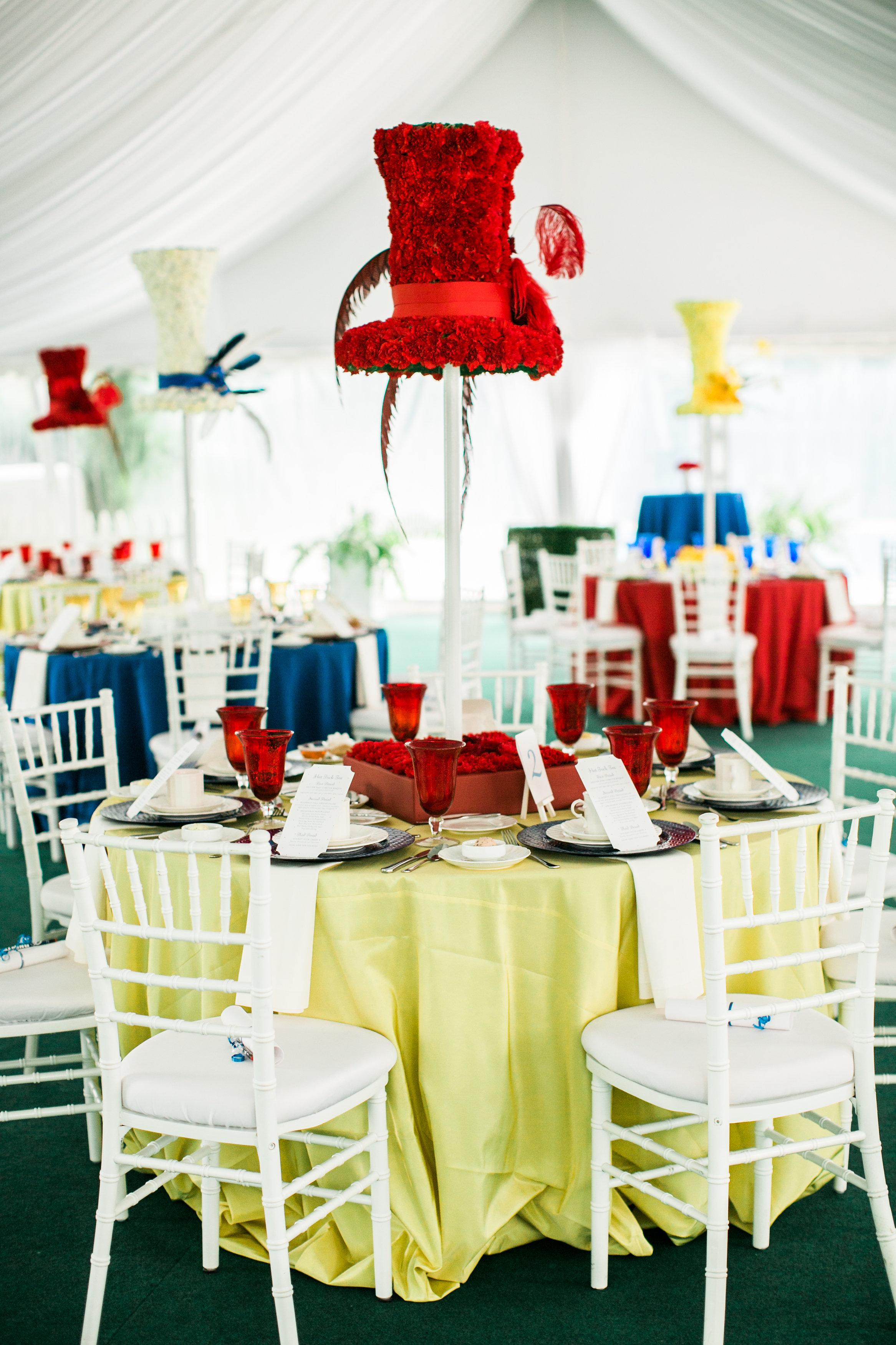 Hat Trick Tea 2014 - Anna Lucia Events
