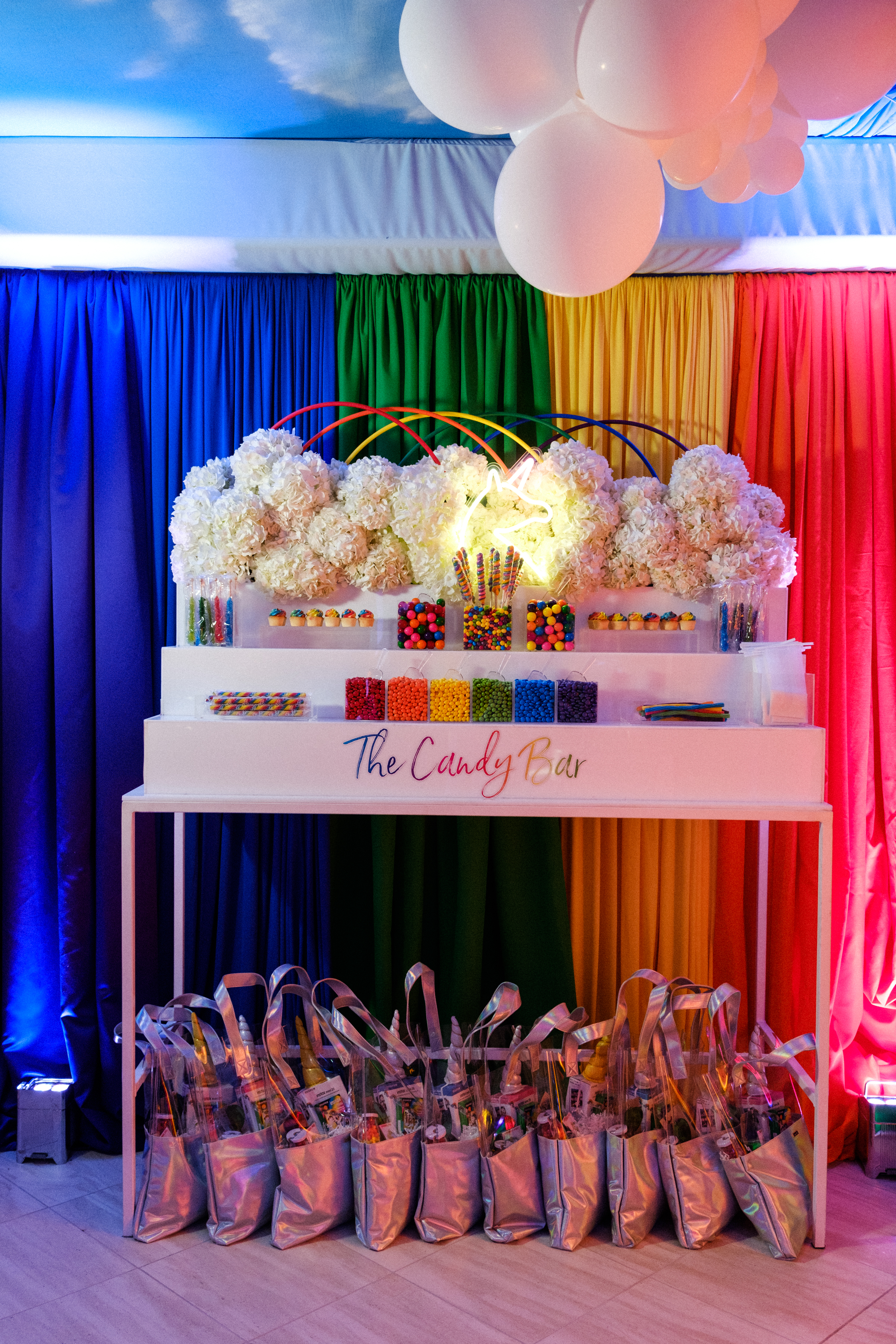 Rainbow Pre-Prom Party - Anna Lucia Events
