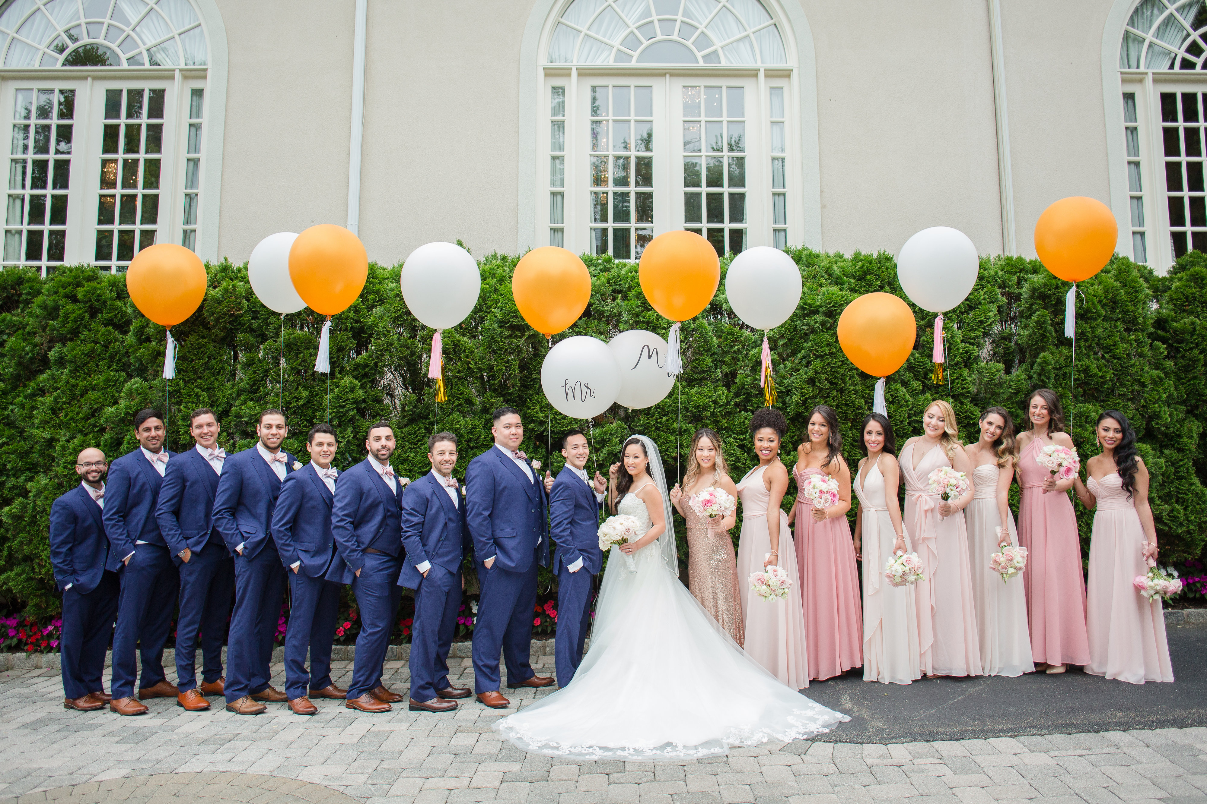 Lovely Pink & Gold Wedding - The Crystal Plaza