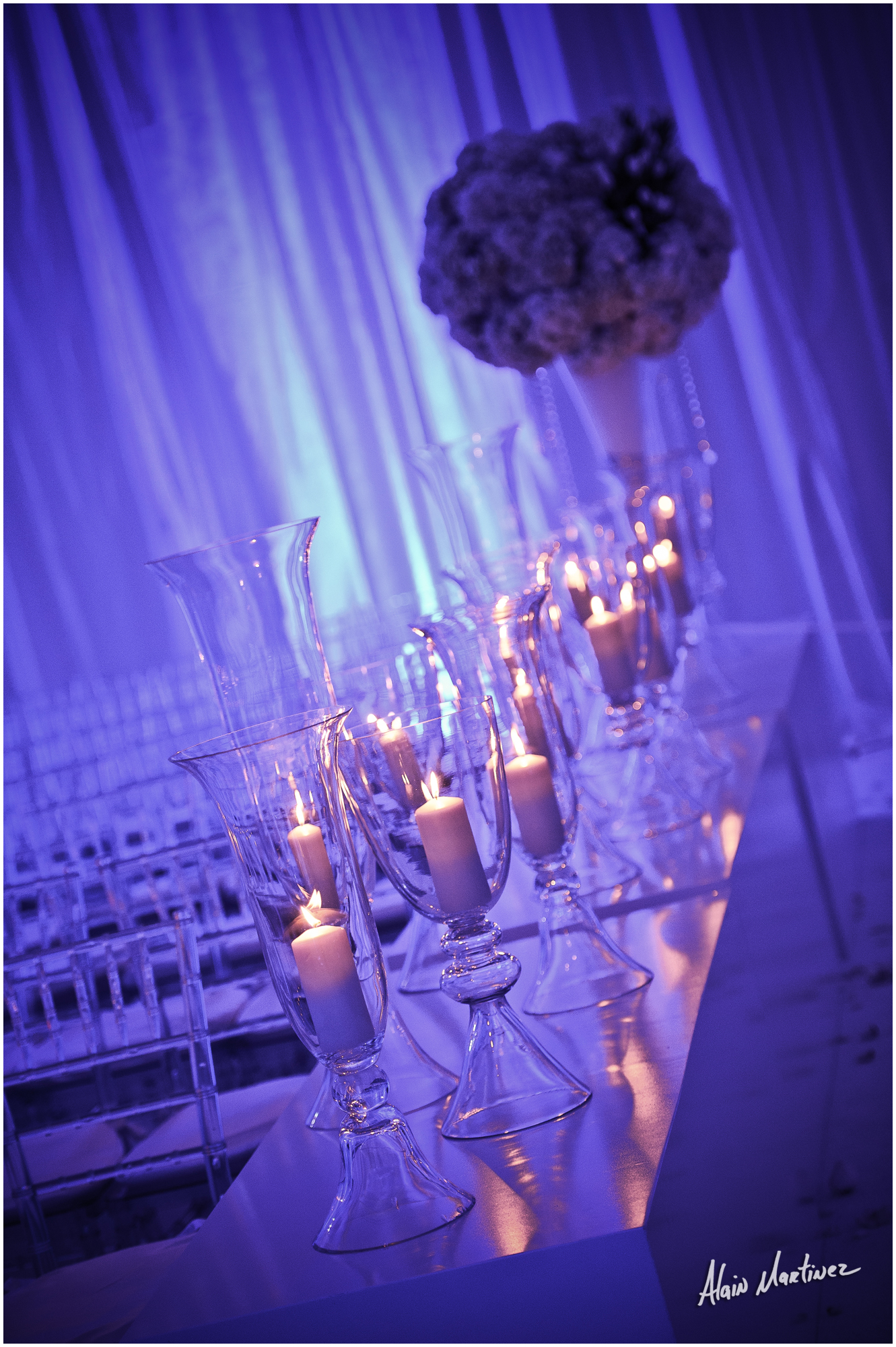 Romantic Moonlight Wedding - Carrie Zack Events