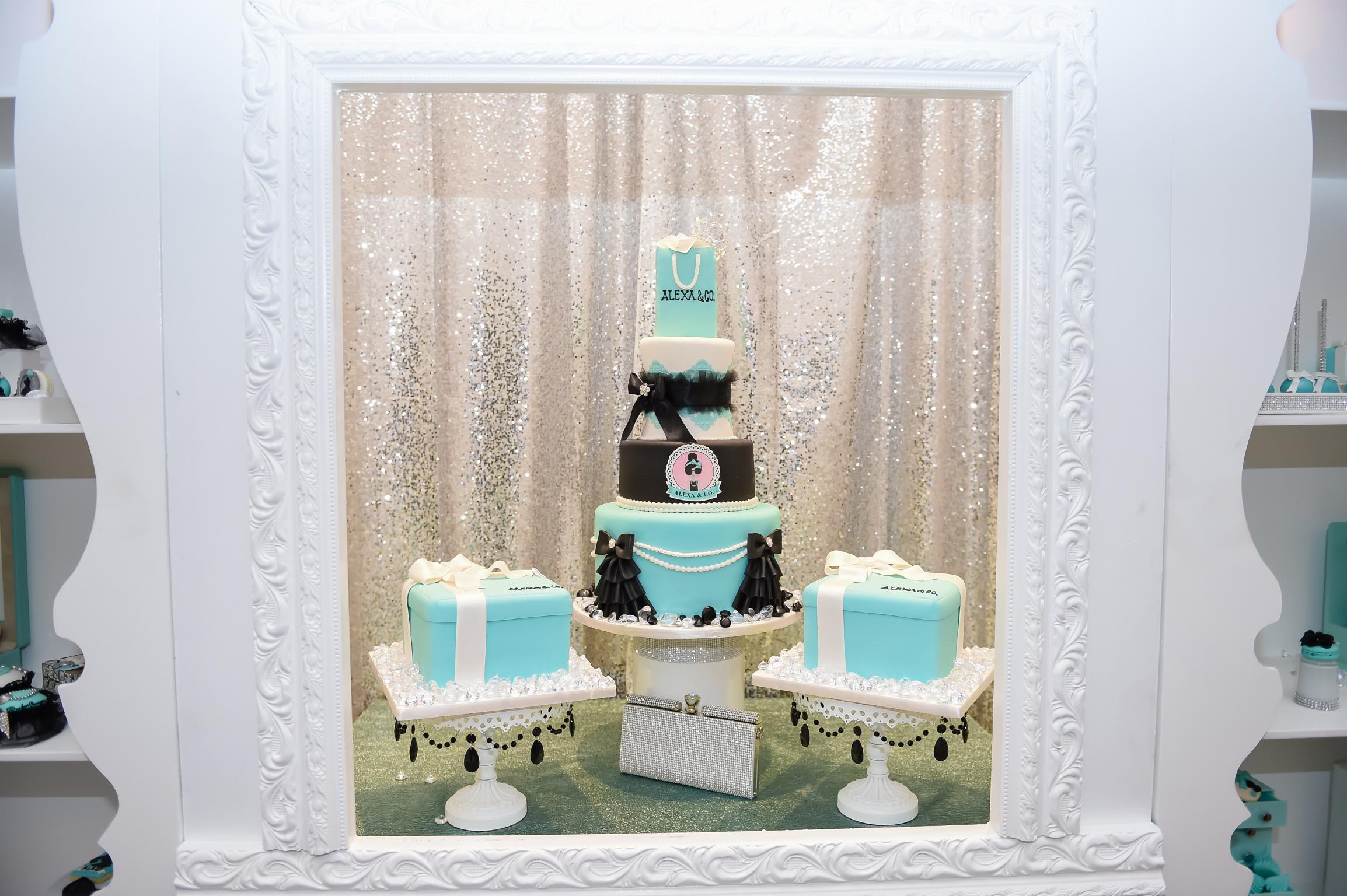 Breakfast At Tiffany's Birthday Soiree - Monica Pardo Events